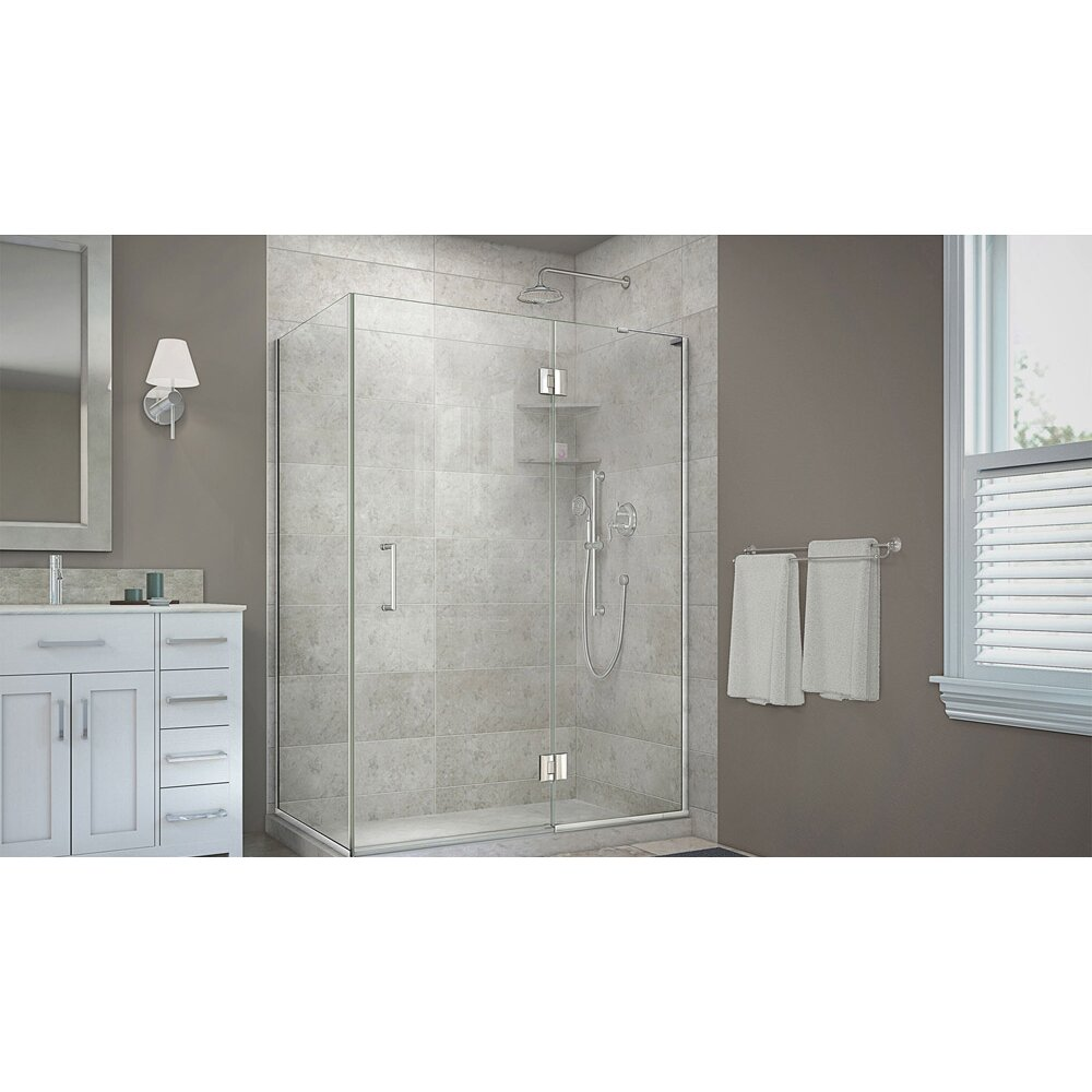 "DreamLine Unidoor-X 48.38"" W X 30"" D Hinged Shower"