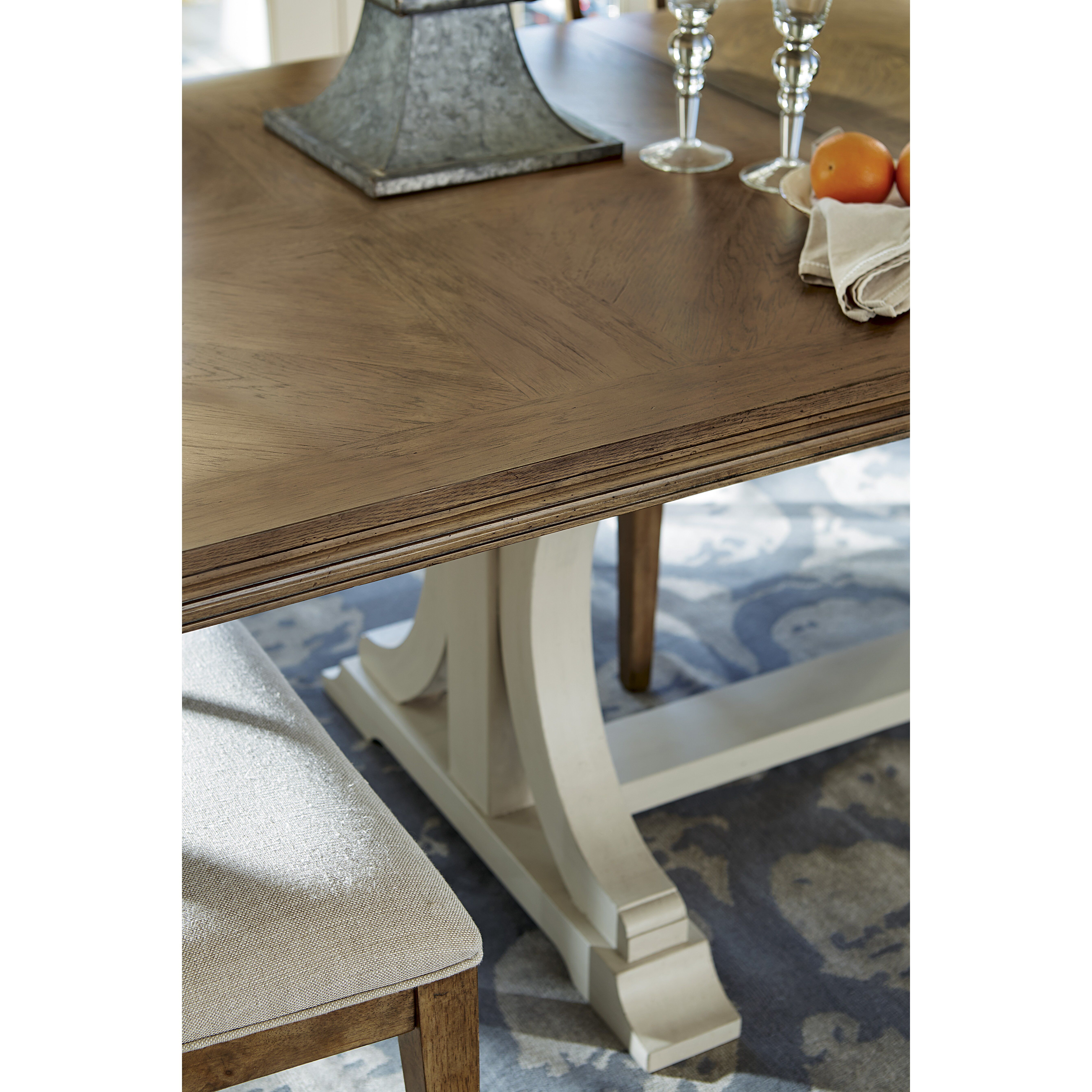 Universal Furniture Moderne Muse Extendable Dining Table