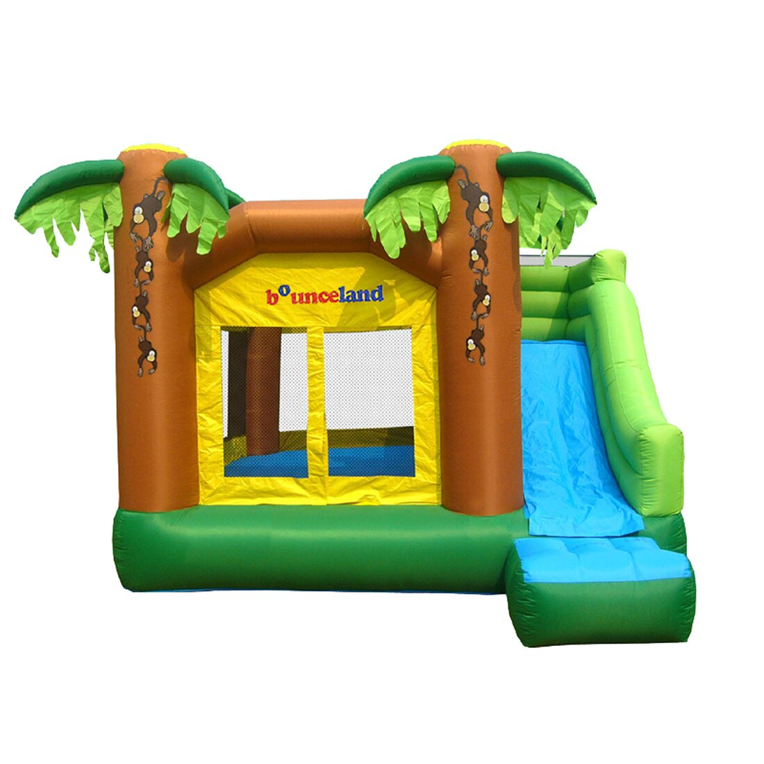 Bounceland Jungle Bounce House Amp Reviews Wayfair
