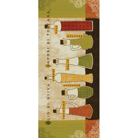 Mohawk Home New Wave 3 Piece Kitchen Toscana Area Rug Set