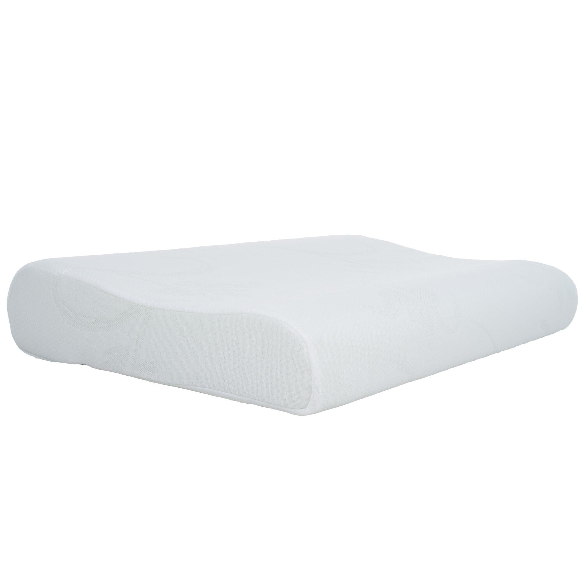 remedy memory foam contour pillow wayfair. Black Bedroom Furniture Sets. Home Design Ideas