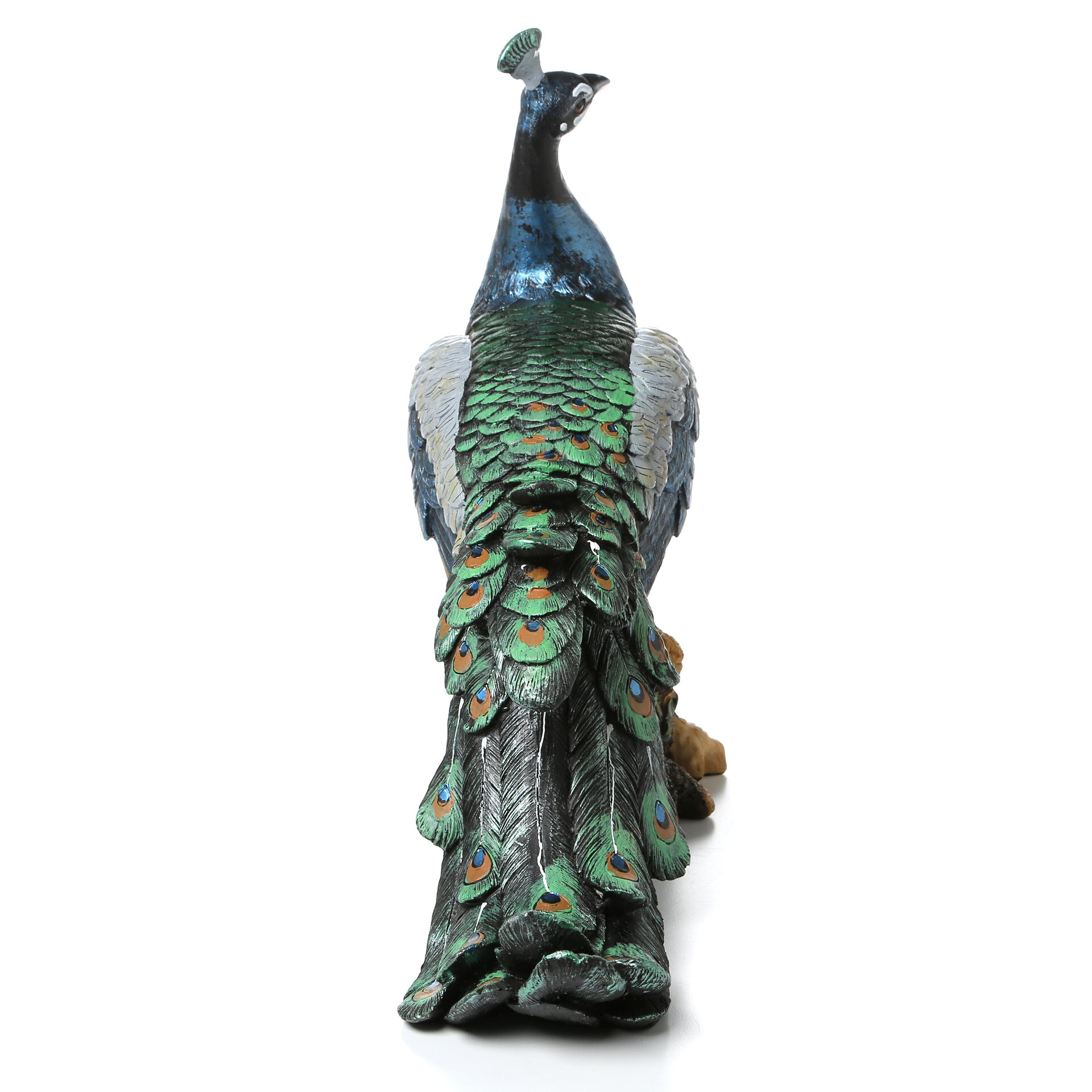 Design toscano palace peacock garden statue reviews for Design tuscany