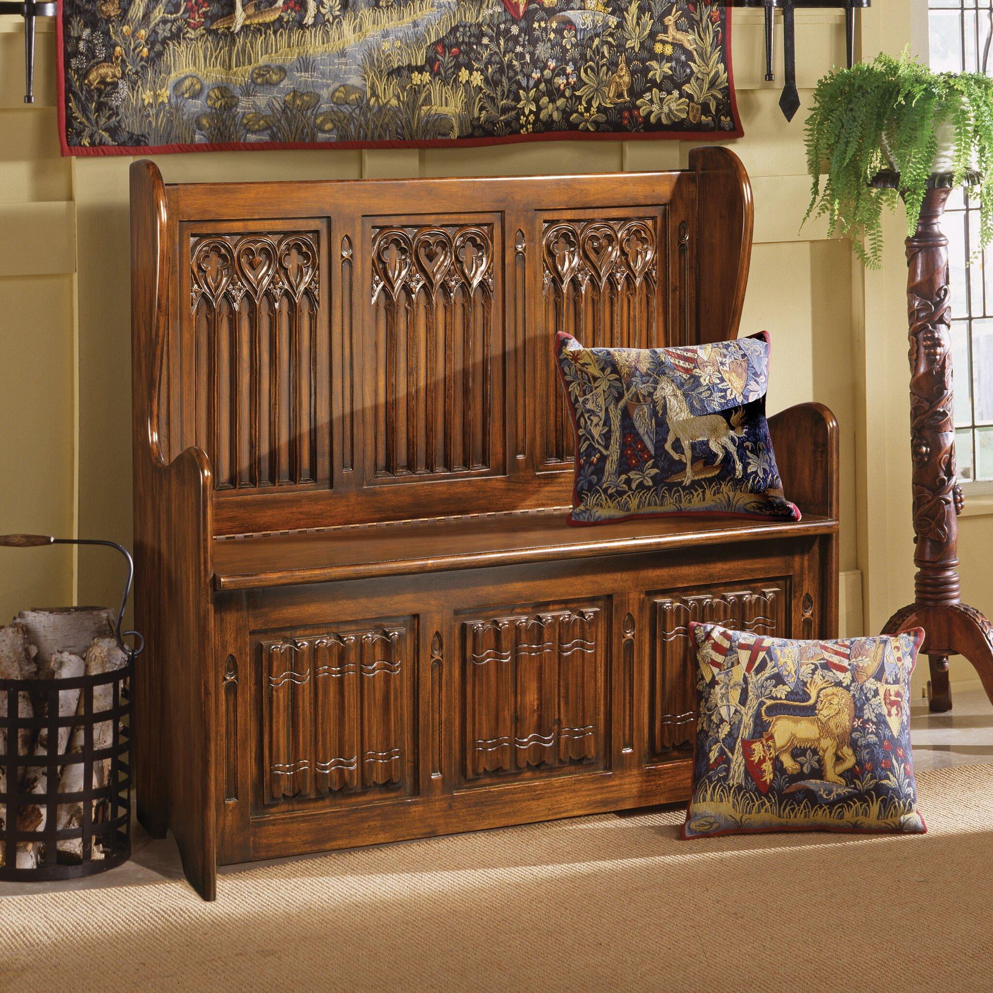 Foyer Mudroom Reviews : Design toscano kylemore abbey gothic storage entryway