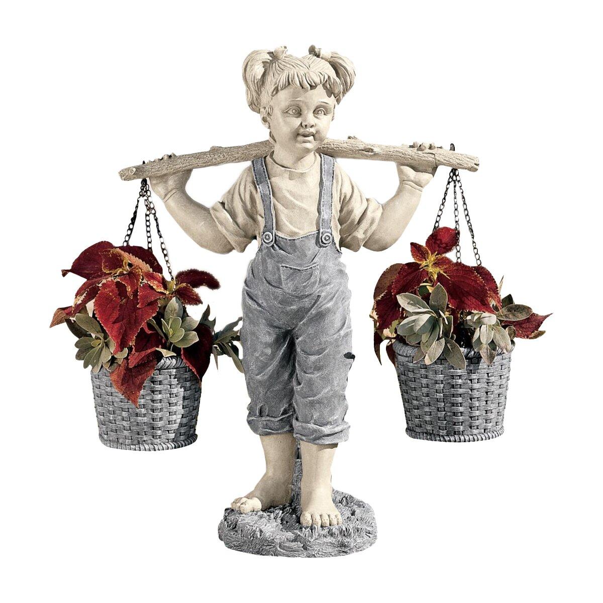 Wayfair Garden Statues: Design Toscano Flowers For Felicity Garden Statue