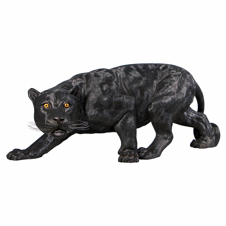 Design toscano shadowed predator black panther statue grande reviews - Grande statue design ...