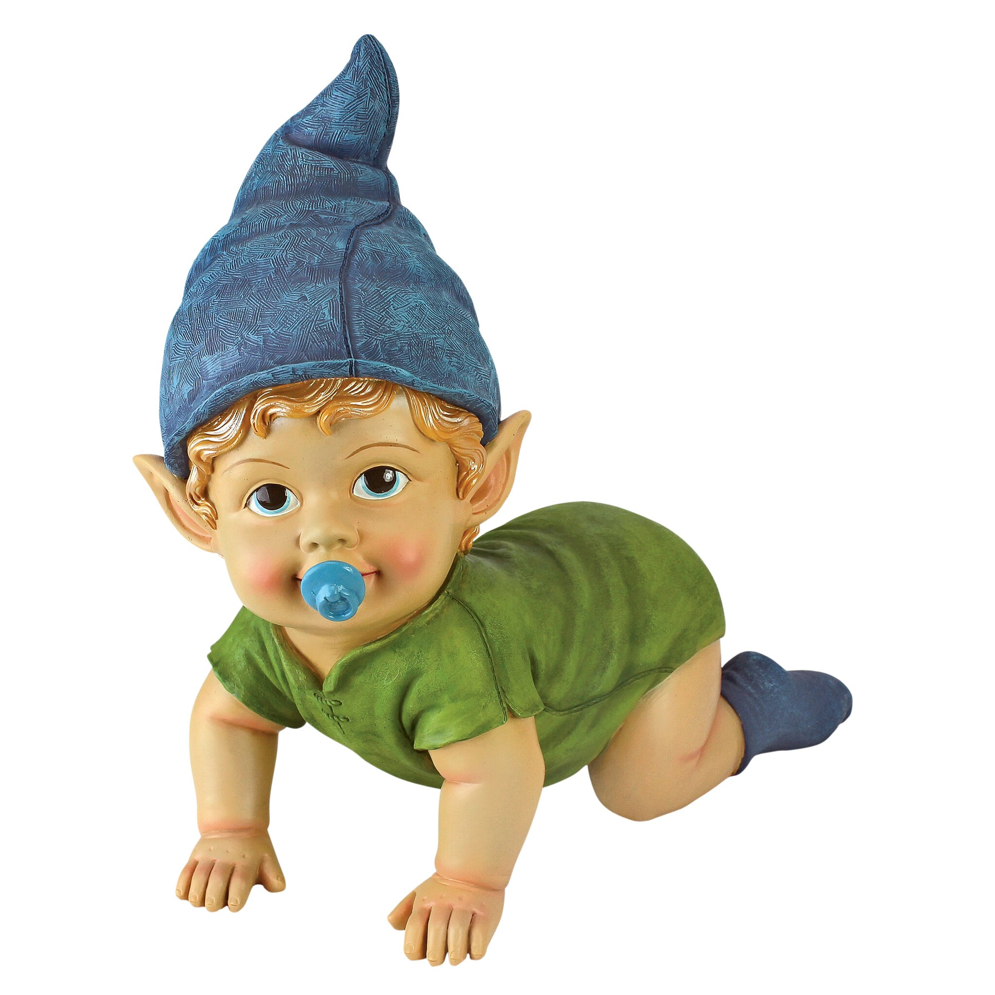 Gnome In Garden: Design Toscano Blaze The Baby Gnome Statue & Reviews