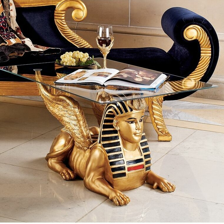 design toscano egyptian coffee table wayfair. Black Bedroom Furniture Sets. Home Design Ideas