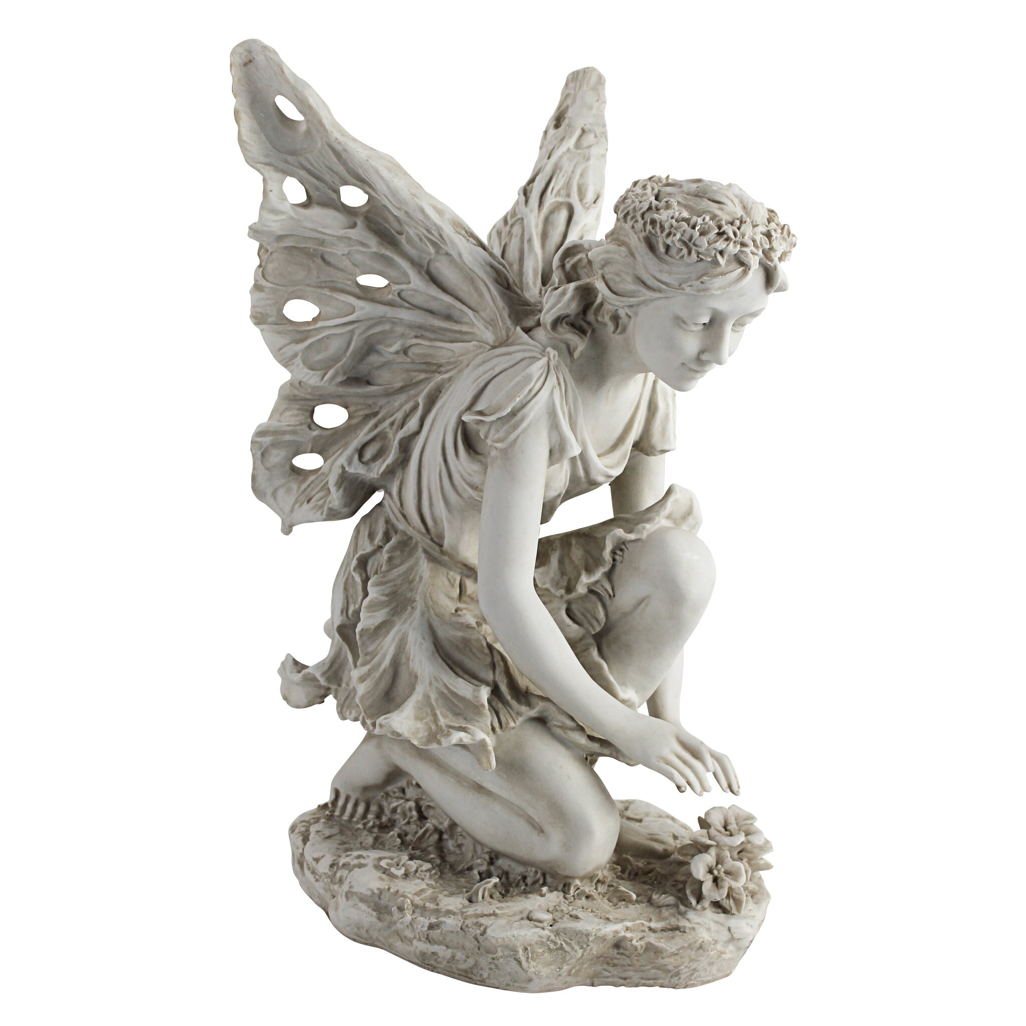 Design Toscano Fiona The Flower Fairy Statue Amp Reviews