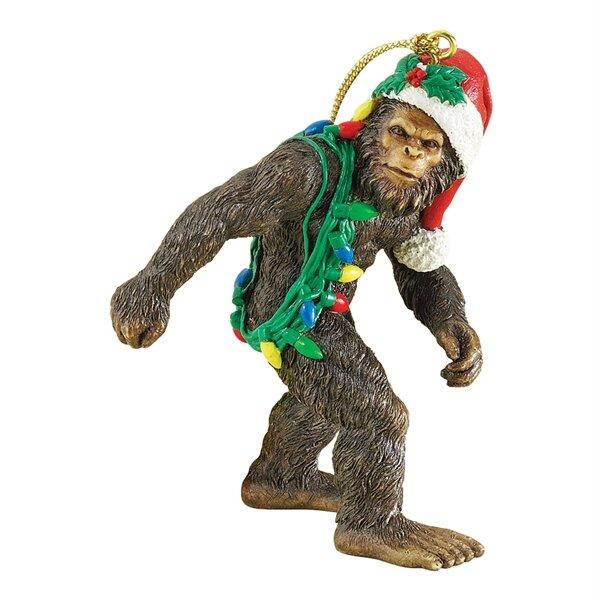 Design Toscano Bigfoot The Holiday Yeti Ornament Amp Reviews