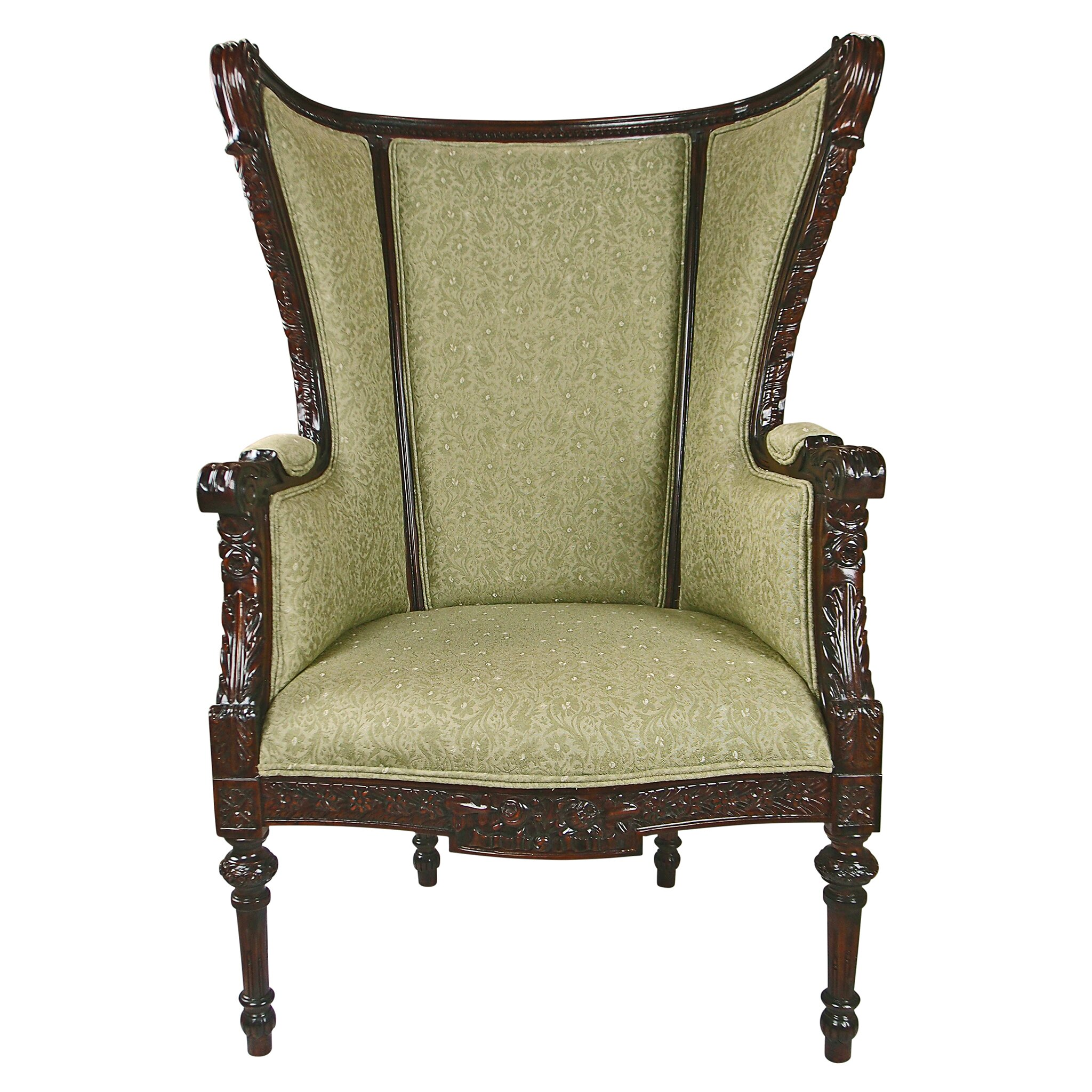 Design Toscano Louis XVI Wingback Chair Wayfair