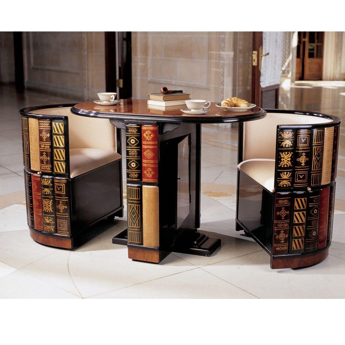 3 Piece Dining Room Set: Design Toscano 3 Piece Dining Set & Reviews