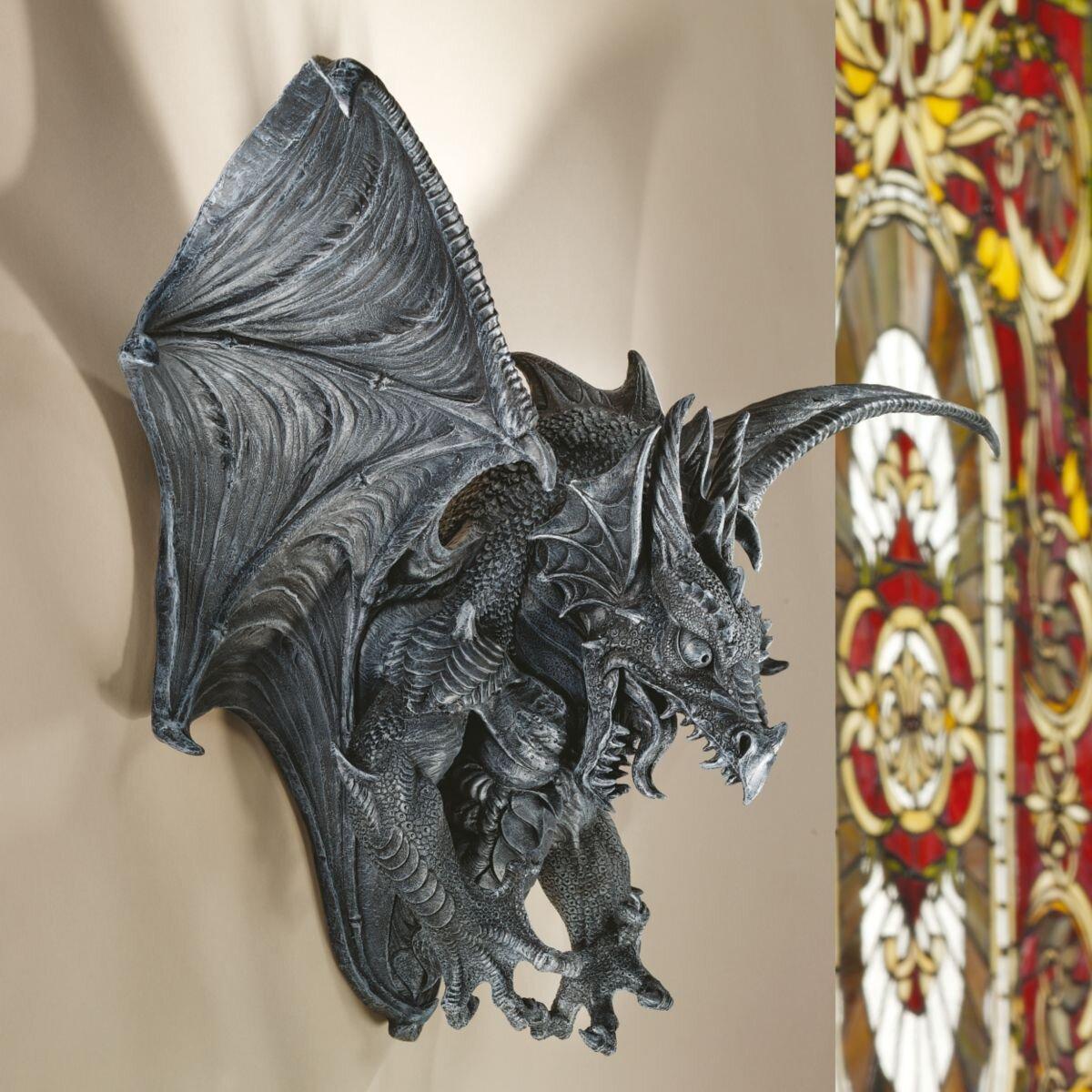 Design Toscano Vengeance The Dragon Wall D Cor Reviews