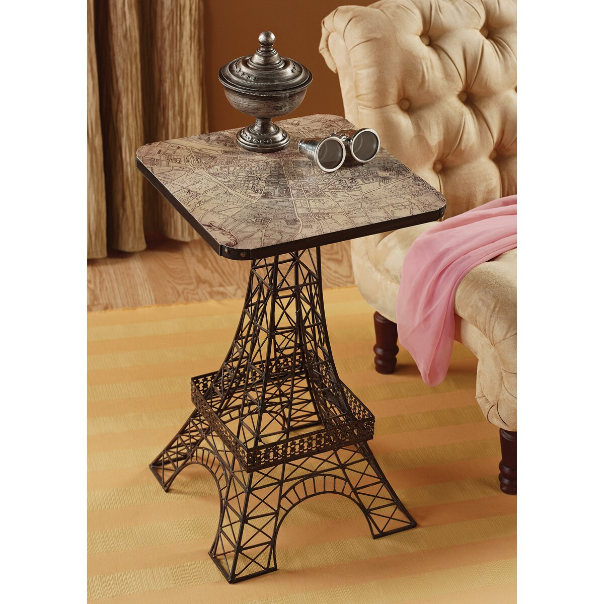 Design Toscano Tour Eiffel Sculptural Side Table amp Reviews  : Design Toscano Tour Eiffel Sculptural Side Table MH20656 from www.wayfair.com size 1200 x 1200 jpeg 383kB