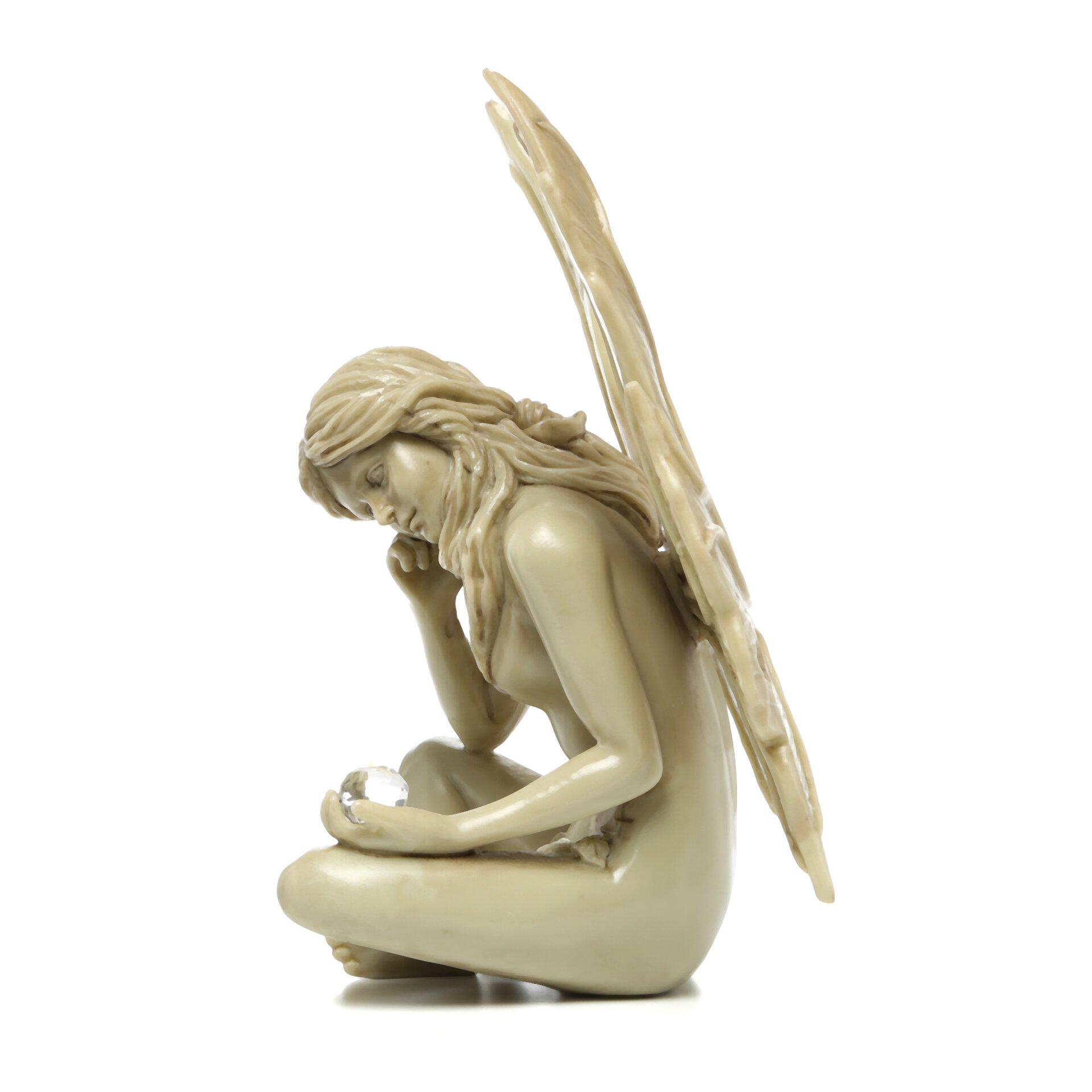 Wayfair Garden Statues: Design Toscano The Secret Garden Gazing Fairy Statue