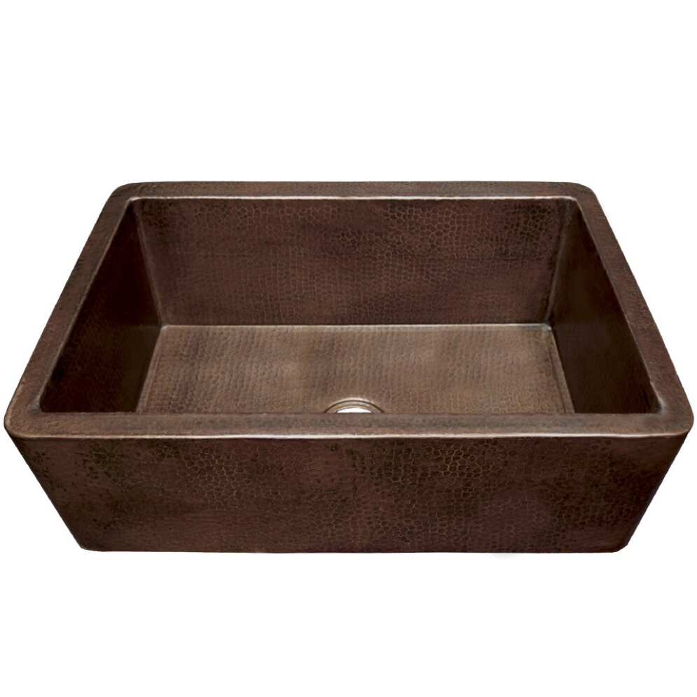Native Trails Farmhouse 33 Quot X 22 Quot Copper Kitchen Sink