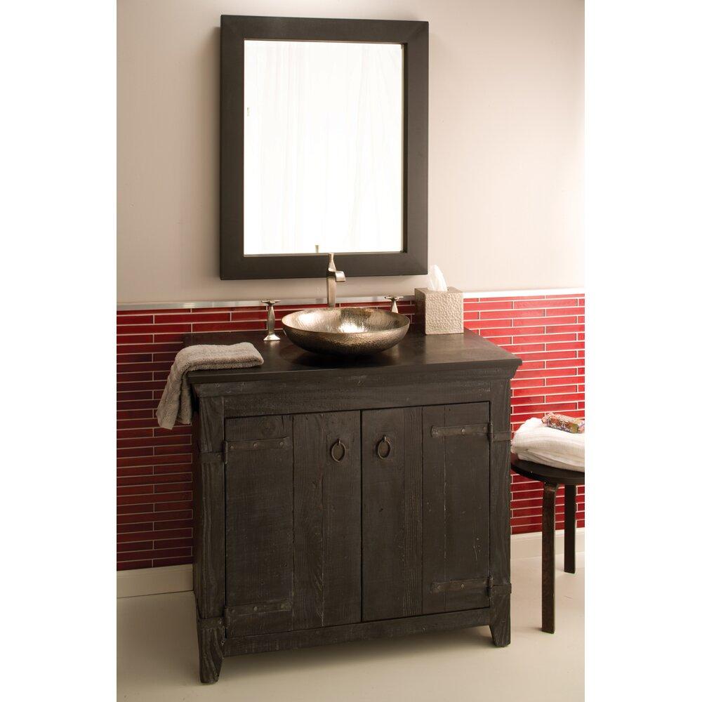 "Old World Bathroom Vanities: Native Trails Old World 36"" Vanity Base & Reviews"