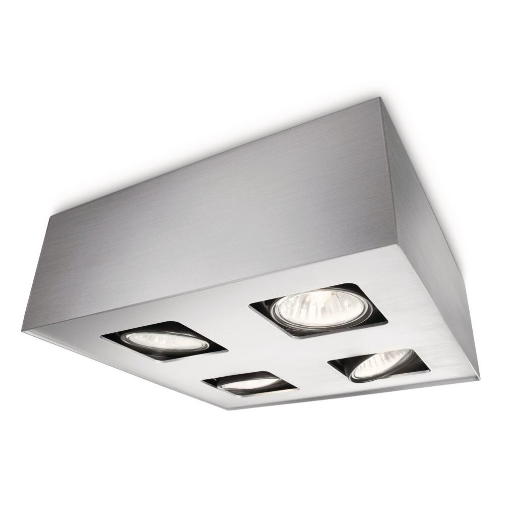 Philips MyLiving 4 Light Tempo Plate And Spiral Flush