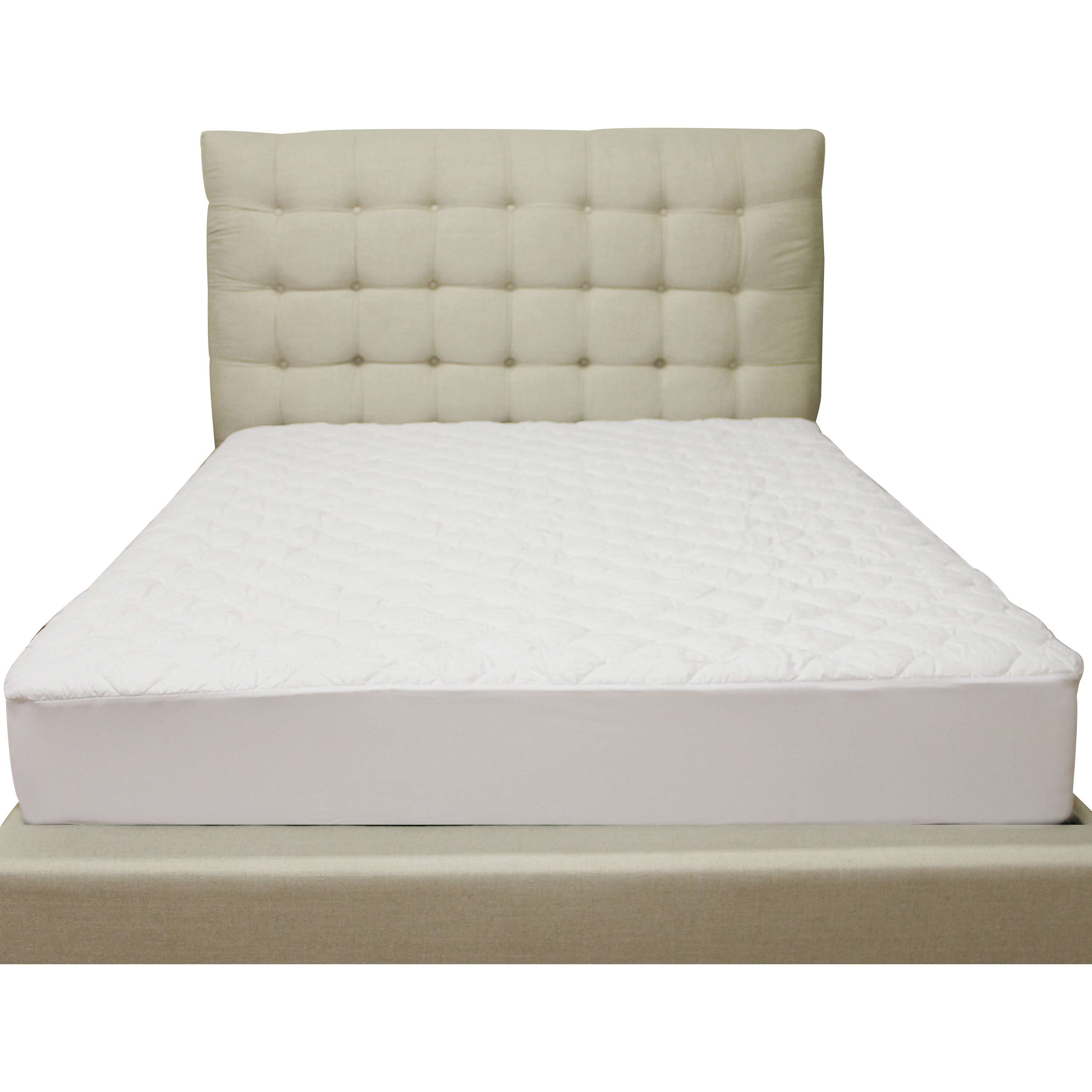 Classic Brands Deluxe Defend A Bed Quilted Hypoallergenic