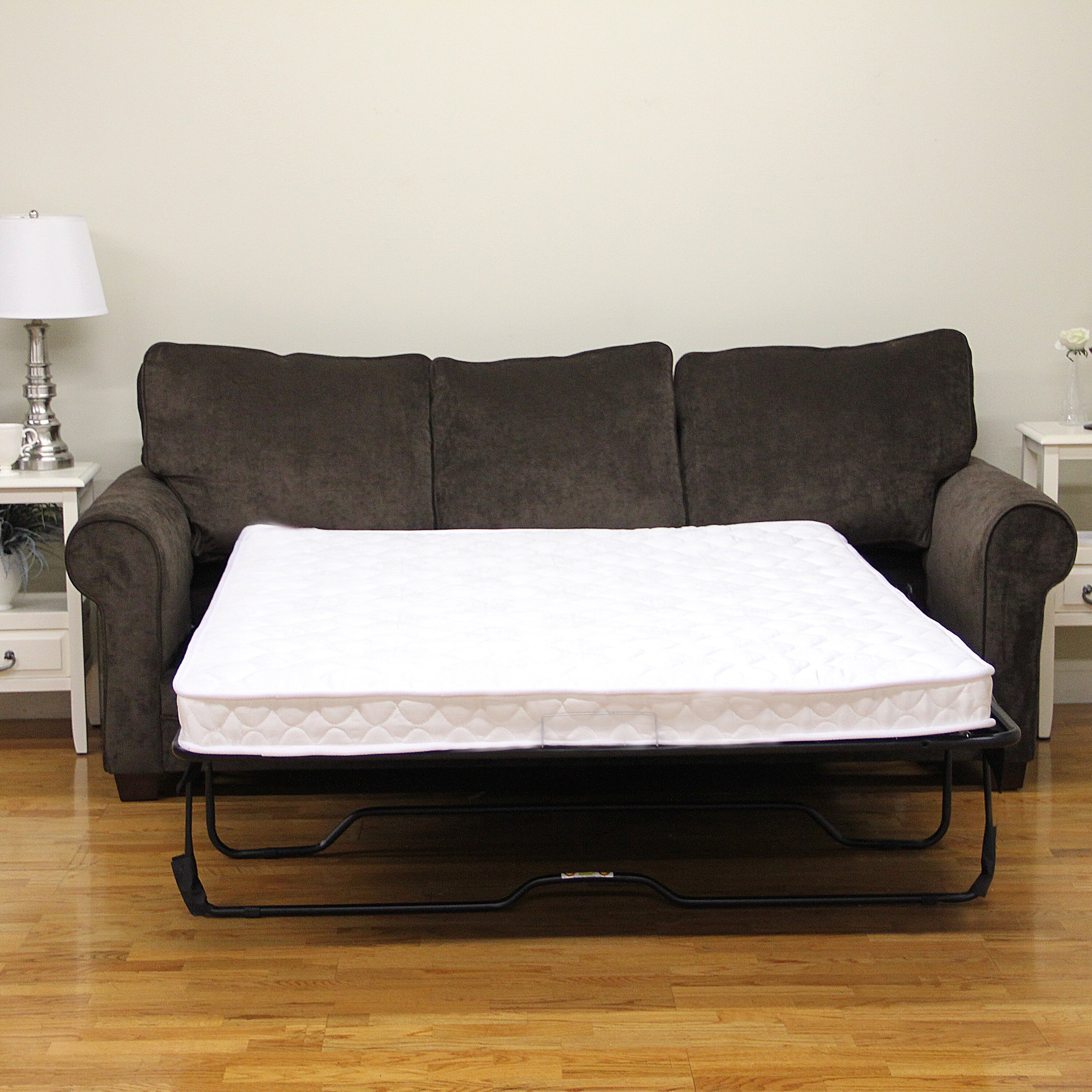 Classic brands plush sofa bed mattress reviews for Sofa bed reviews