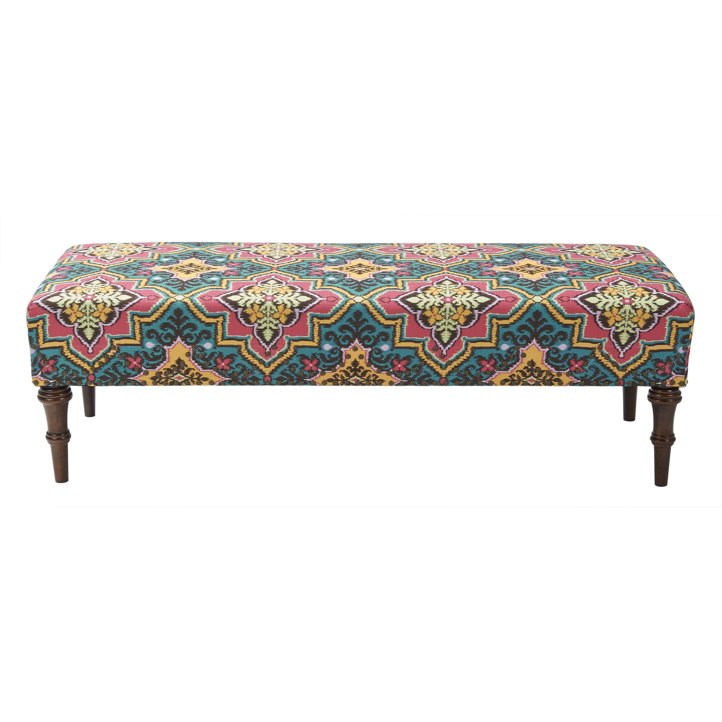 Furniture Accent Furniture Upholstered Benches Jennifer Taylor SKU