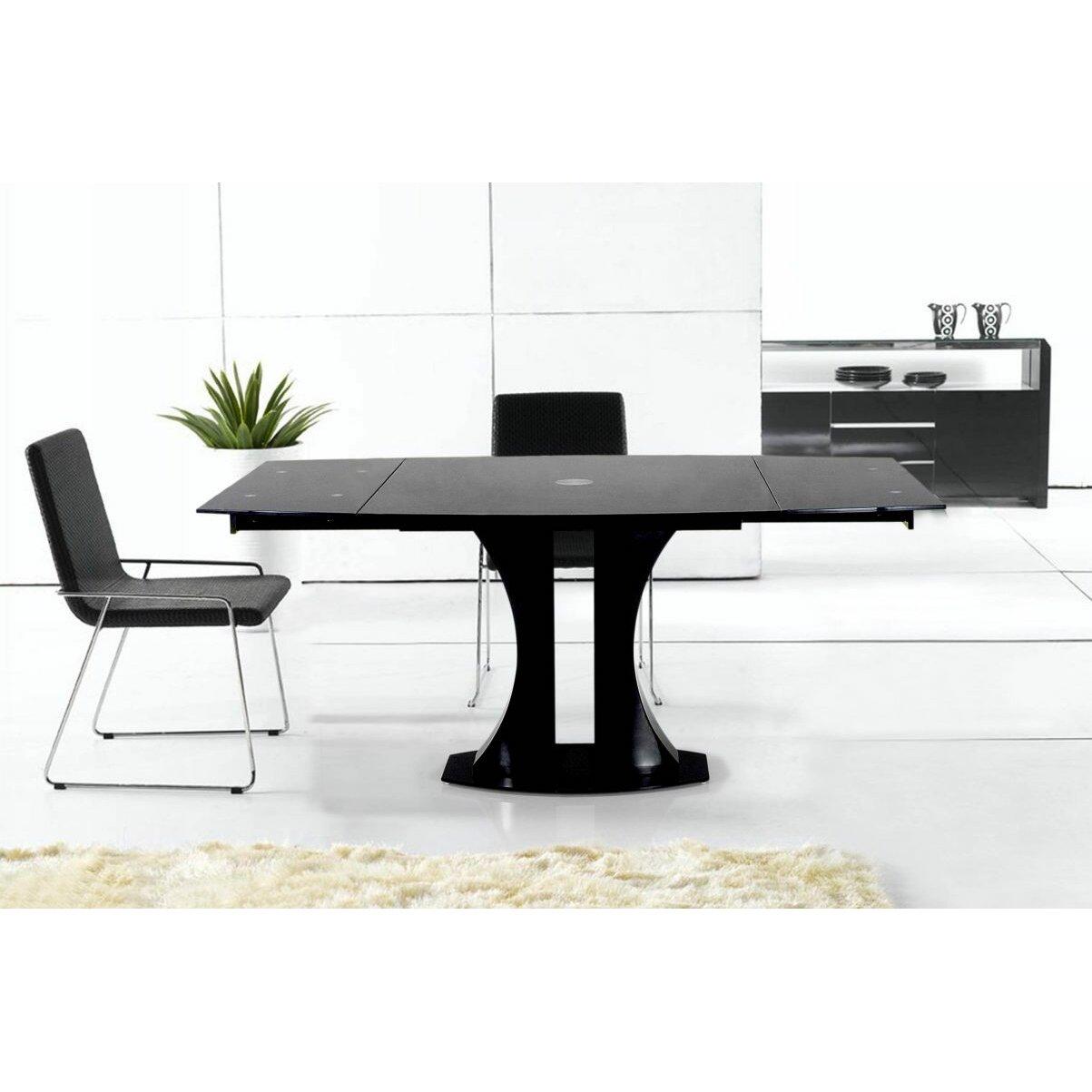 Vig Furniture Modrest Split Extendable Dining Table Reviews Wayfair