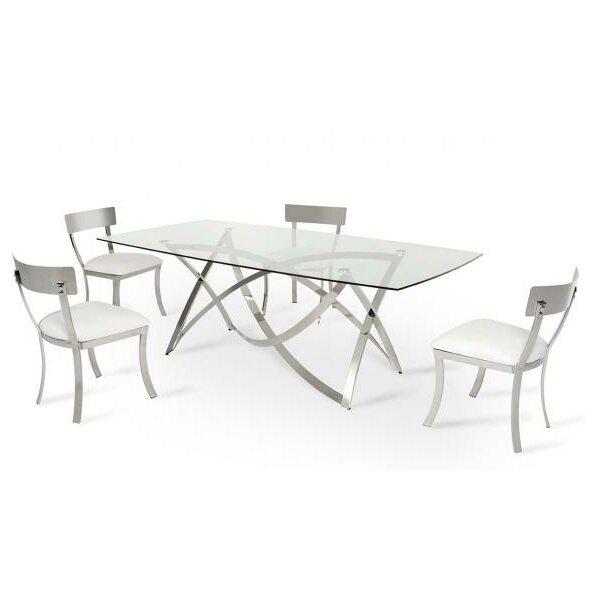Vig Furniture Modrest Labyrinth Dining Table Reviews Wayfair