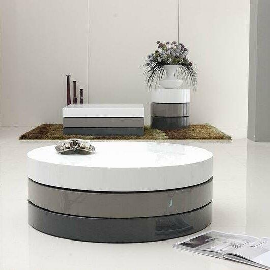 Vig Furniture Modrest Trio Coffee Table Reviews Wayfair