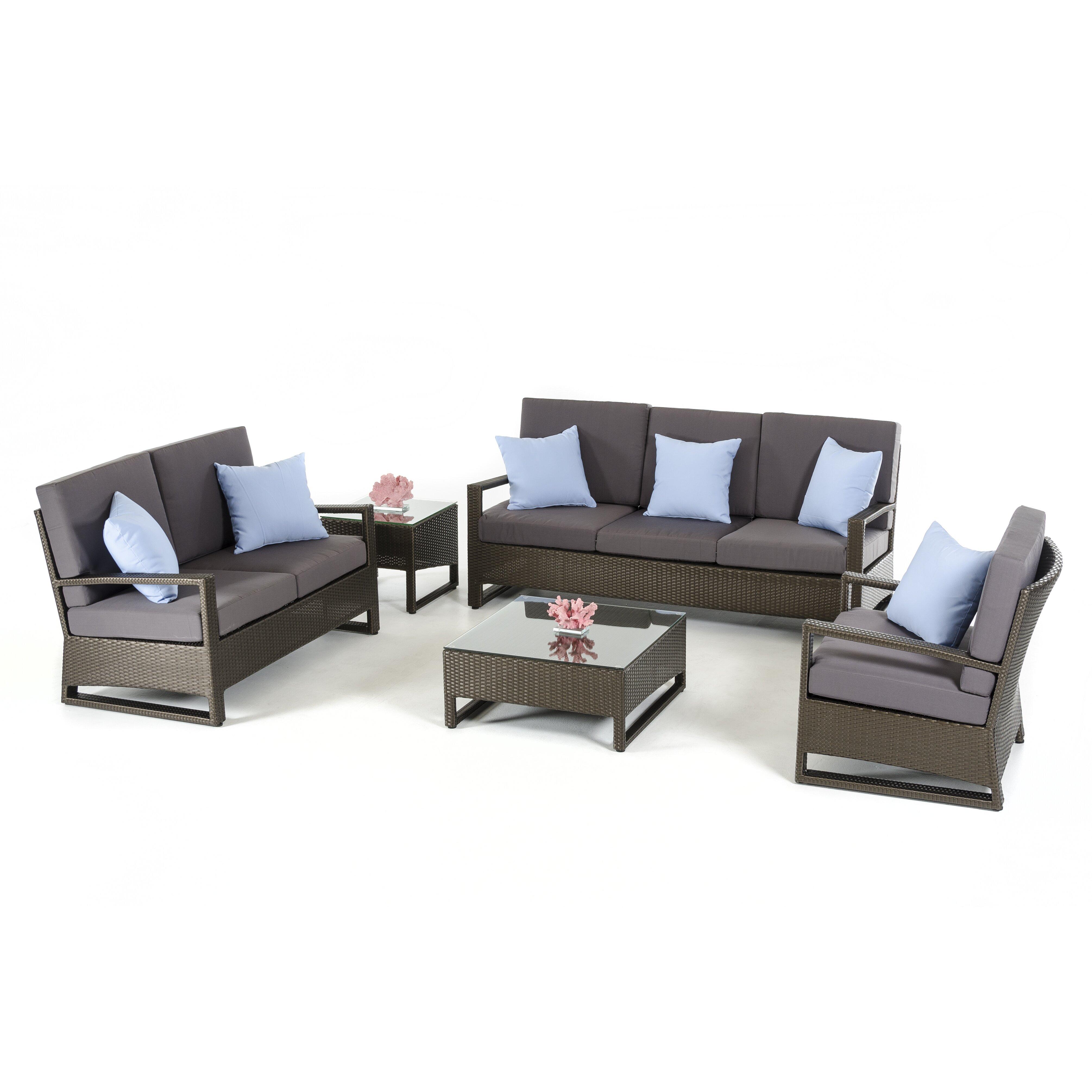 Vig Furniture Renava Lavita 5 Piece Lounge Seating Group Wayfair