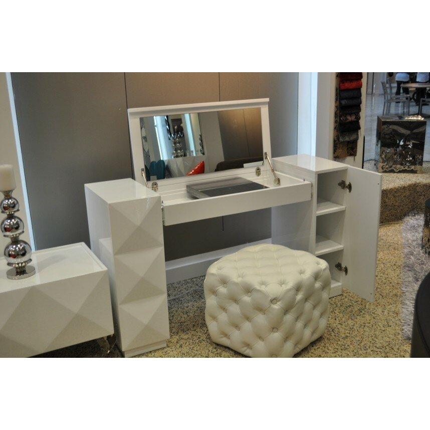 Vig Furniture Versus Eva Vanity With Mirror