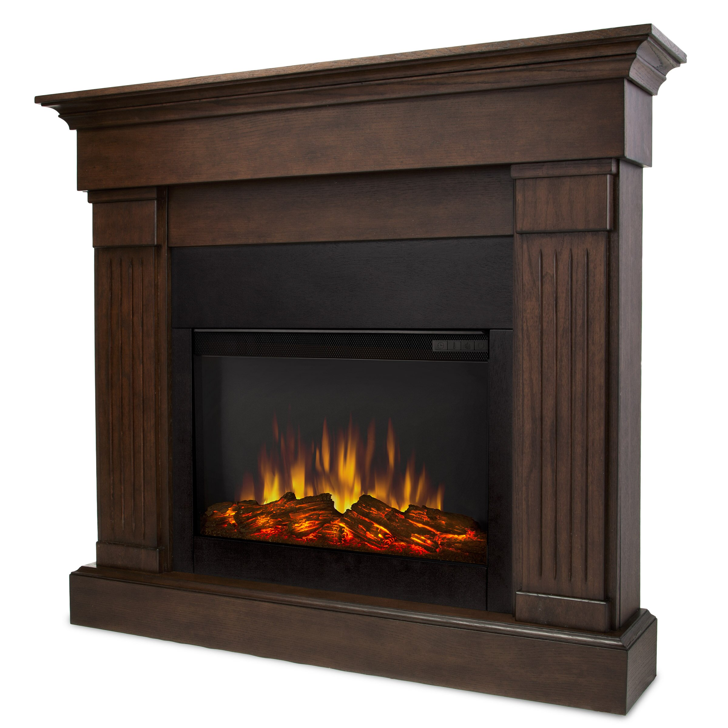 Real Flame Slim Crawford Wall Mounted Electric Fireplace Reviews Wayfair Supply