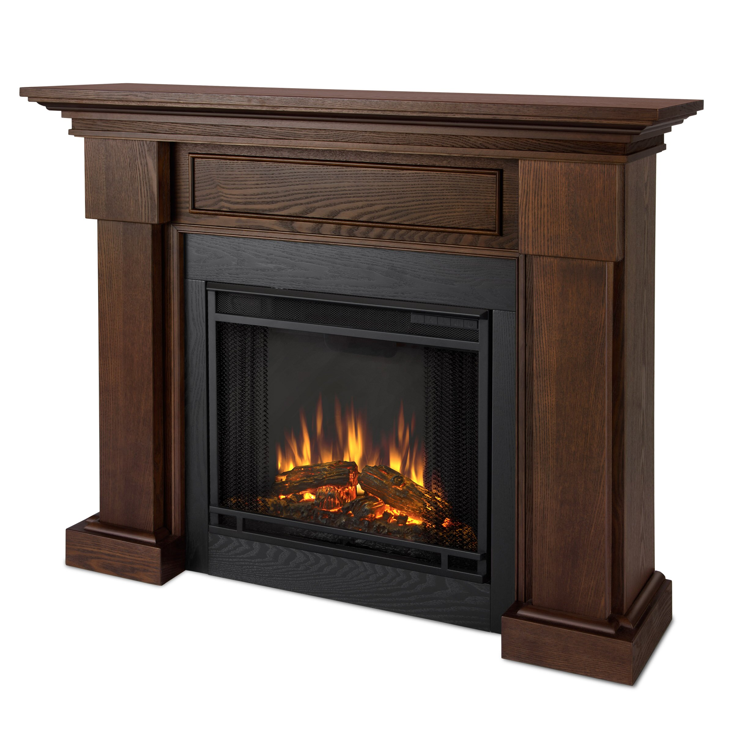 Real Flame Hillcrest Electric Fireplace Amp Reviews Wayfair