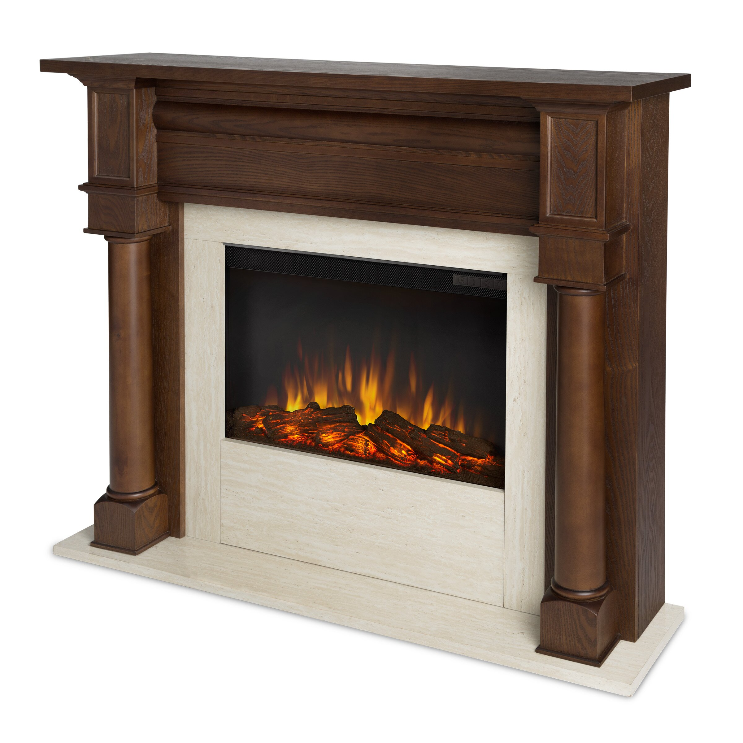 Real Flame Berkeley Electric Fireplace Reviews Wayfair