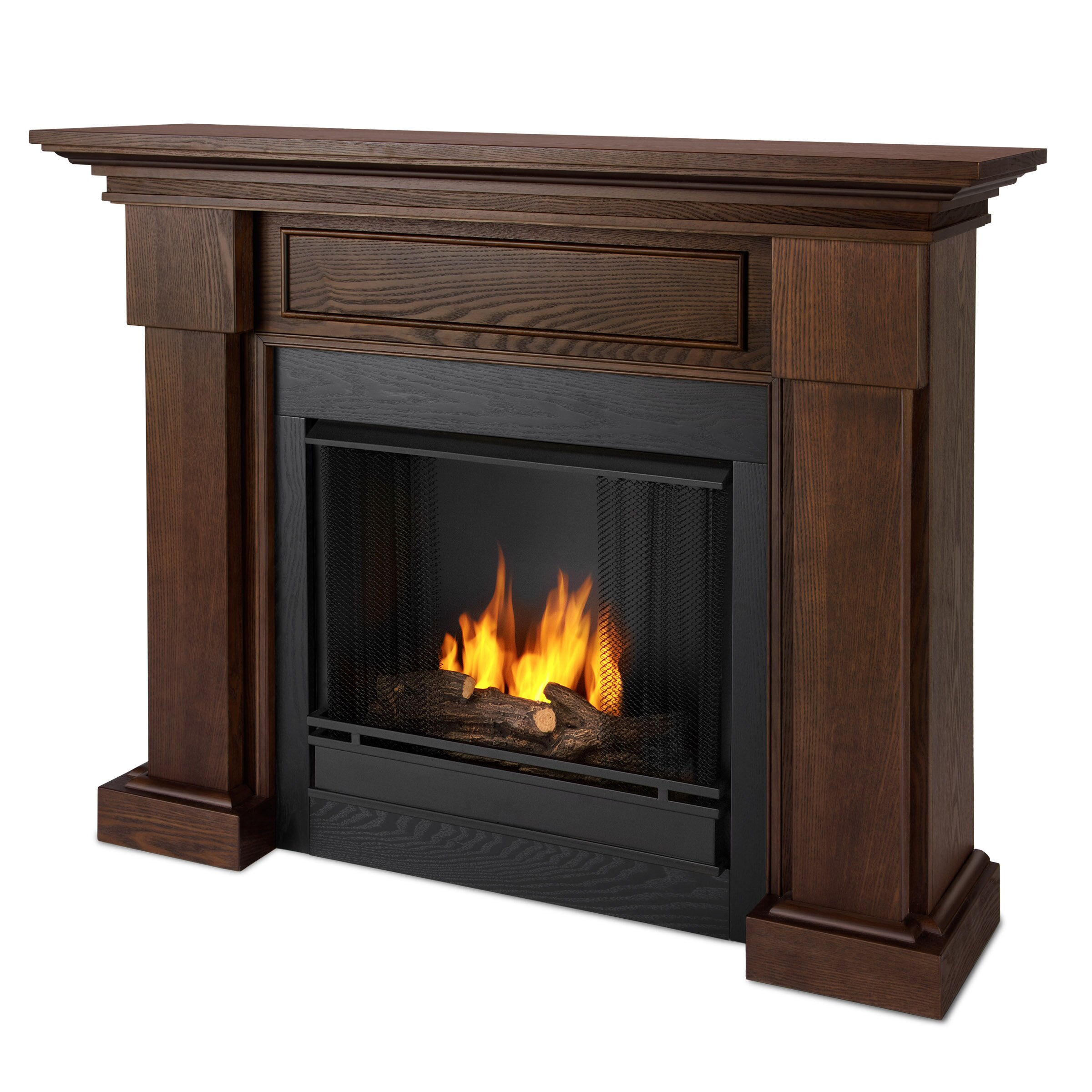 Real Flame Hillcrest Gel Fuel Fireplace Reviews Wayfair