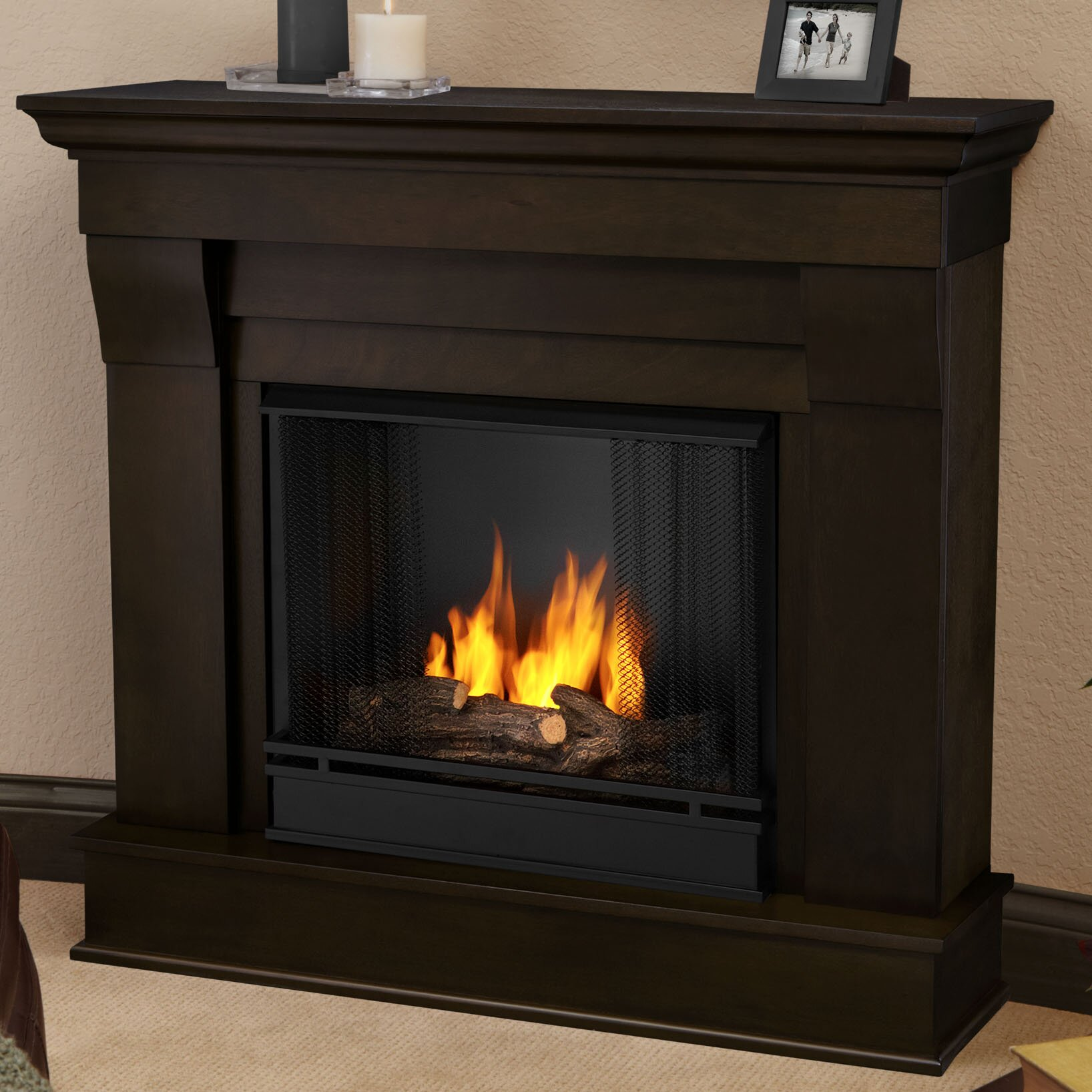 Real Flame Chateau Gel Fuel Fireplace Amp Reviews Wayfair