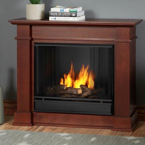 Real Flame Devin Petite Gel Fuel Fireplace Reviews Wayfair