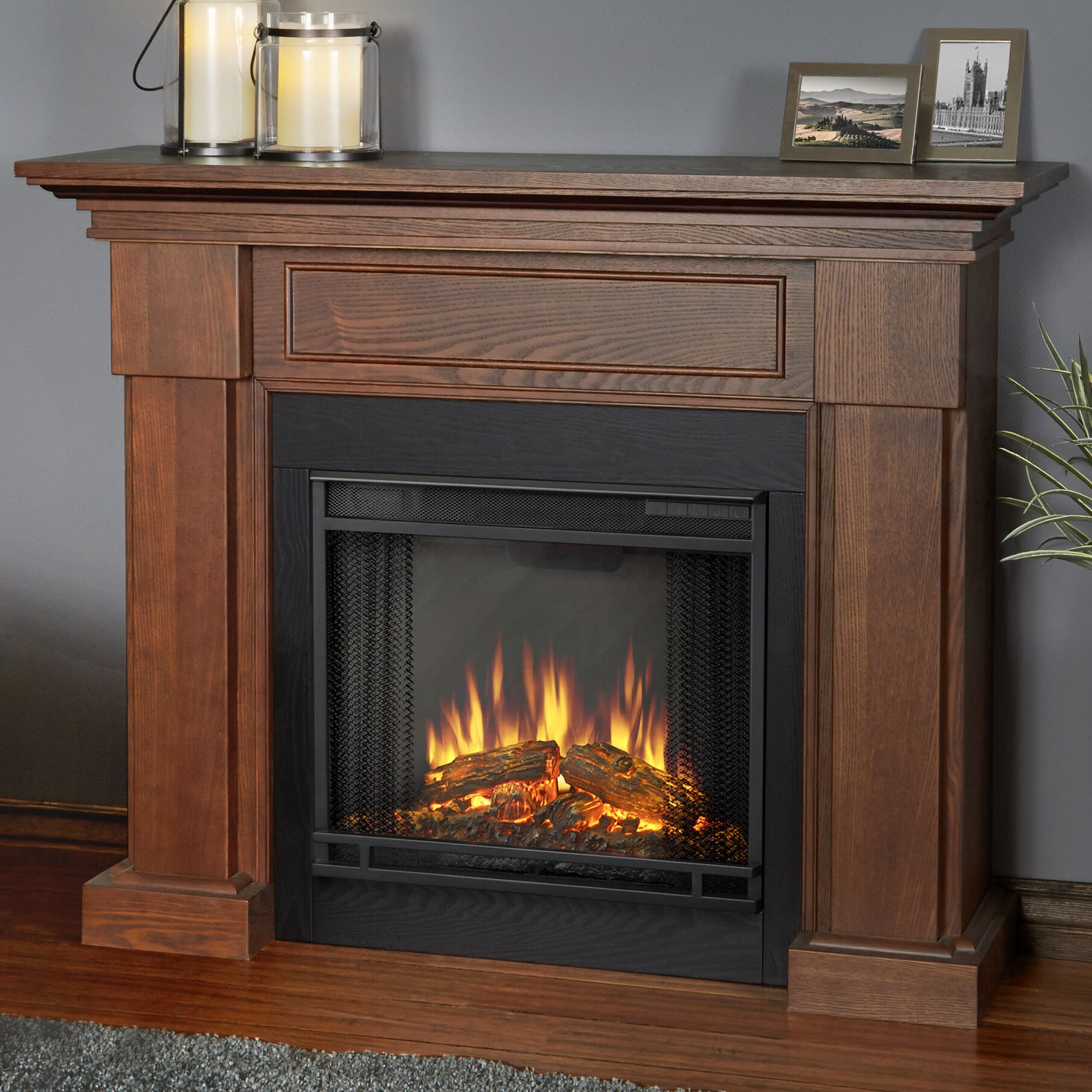 Real Flame Hillcrest Electric Fireplace Reviews Wayfair
