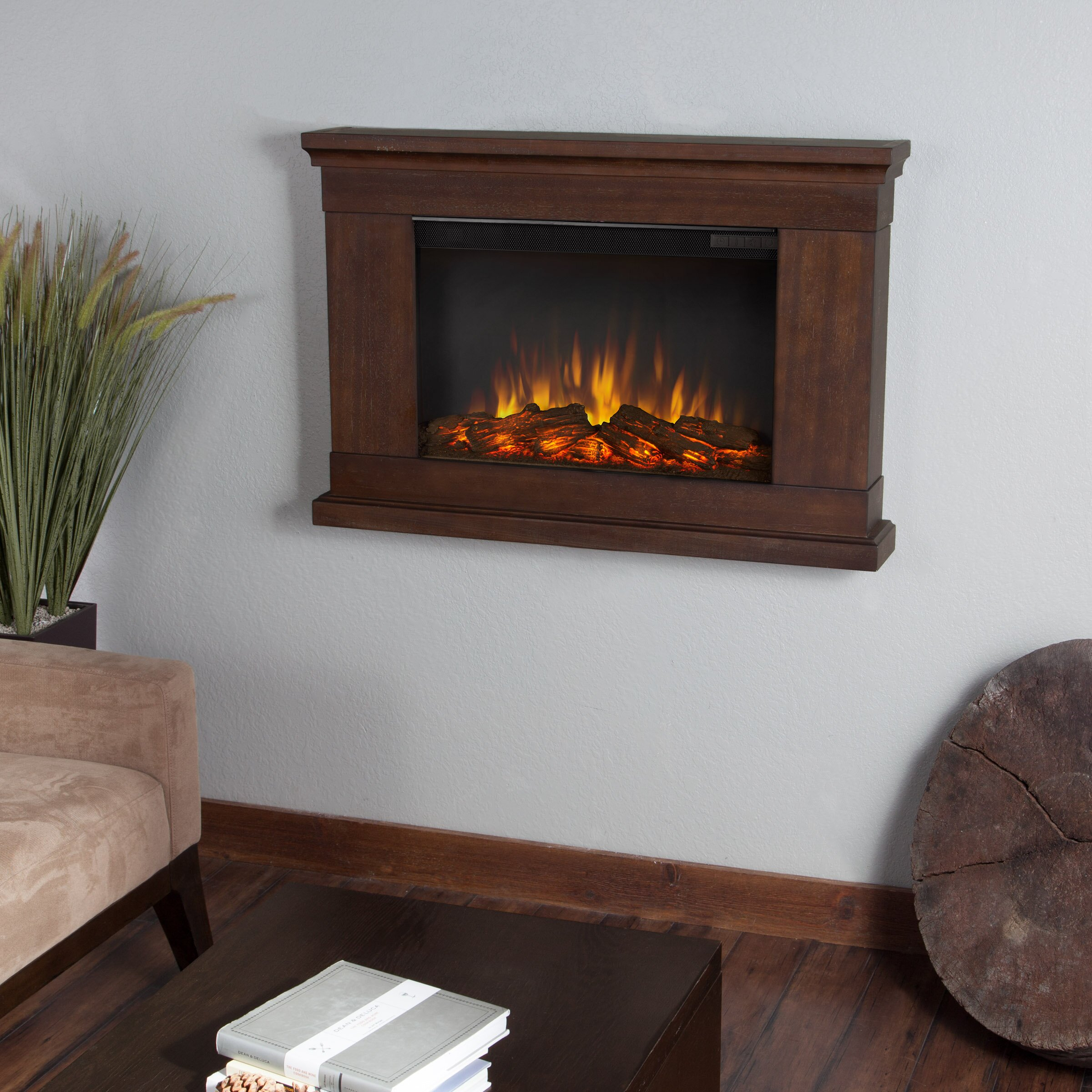 wall mount electric fireplace real slim wall mount electric fireplace amp reviews 12761