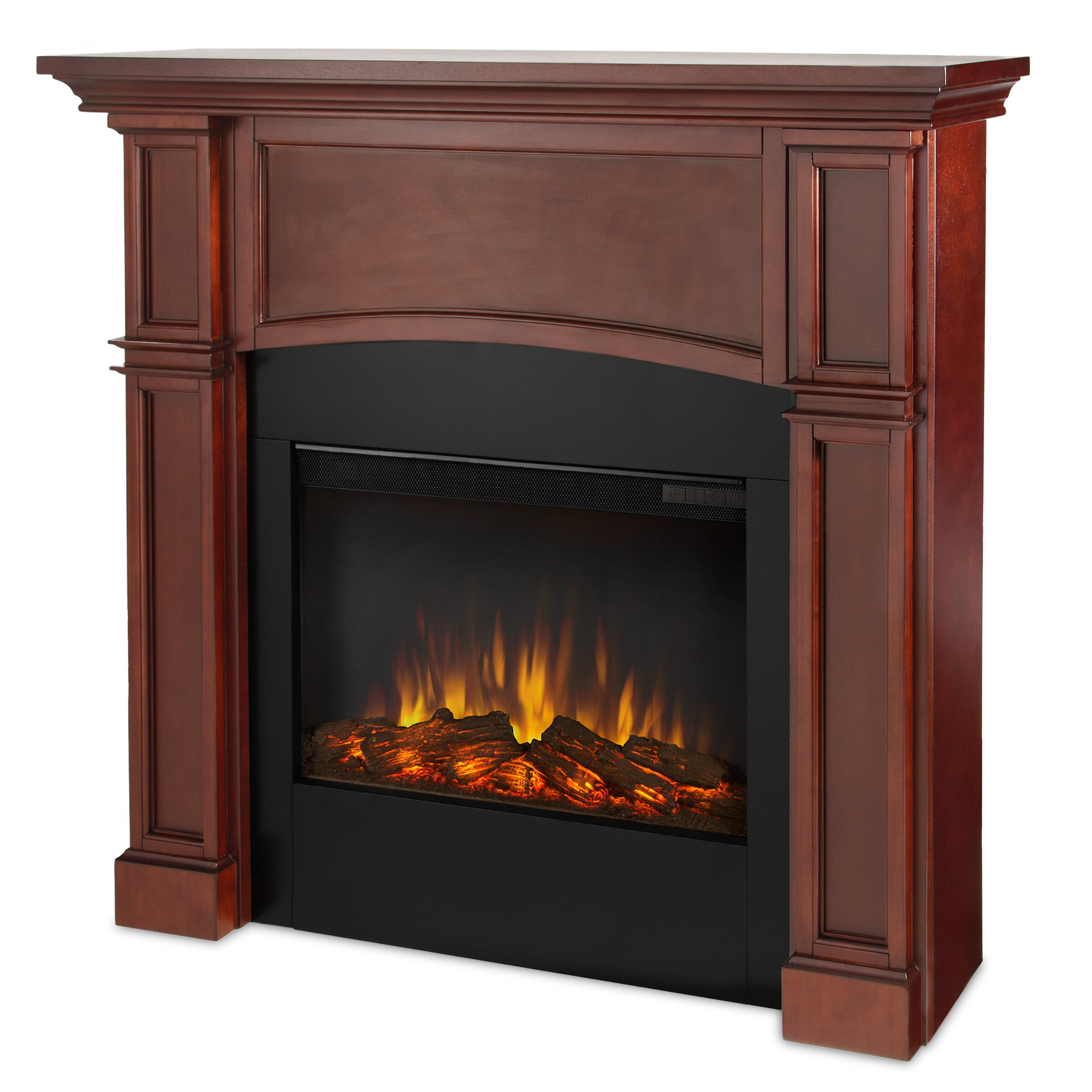Real Flame Slim Bradford Wall Mount Electric Fireplace