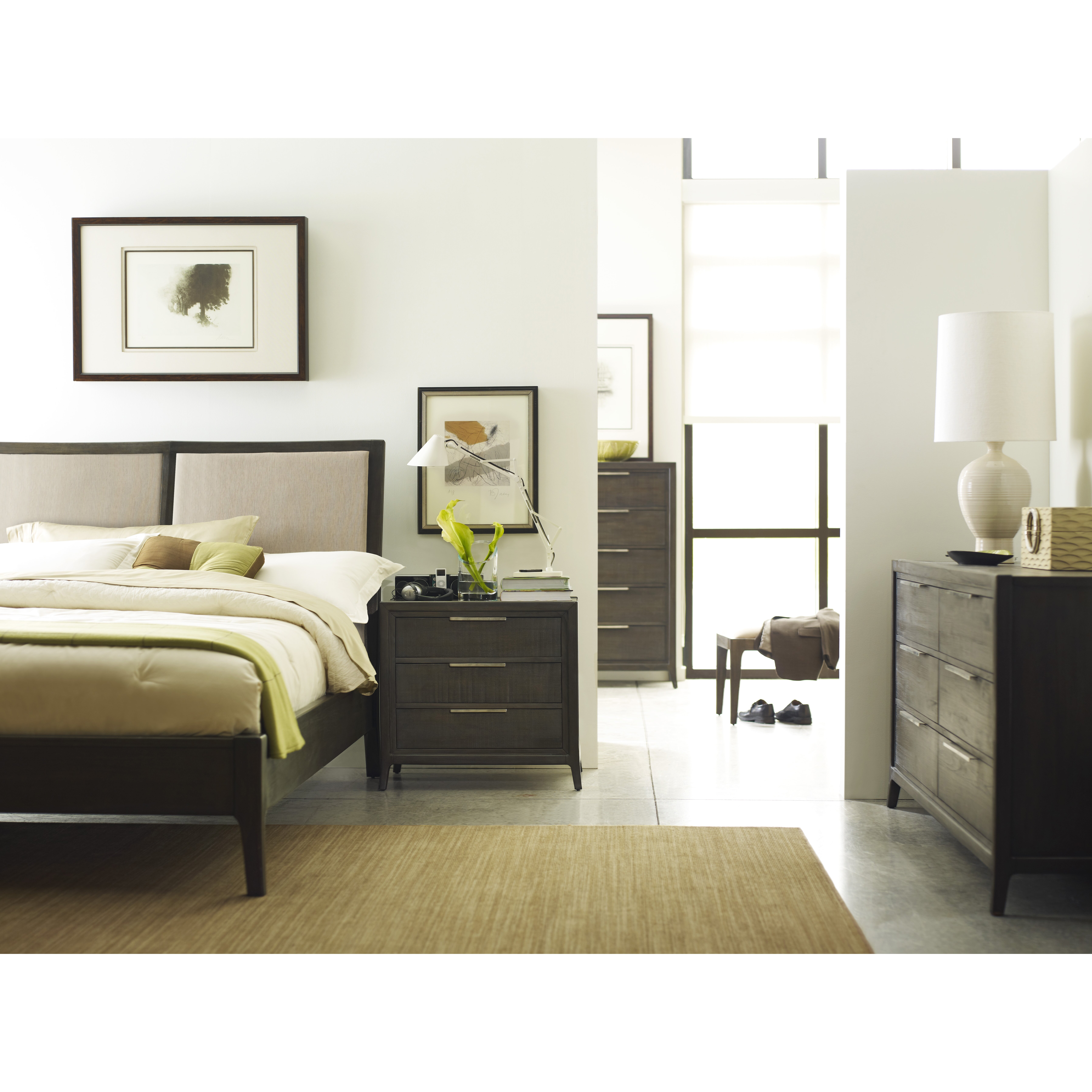 Brownstonefurniture Messina Panel Customizable Bedroom Set
