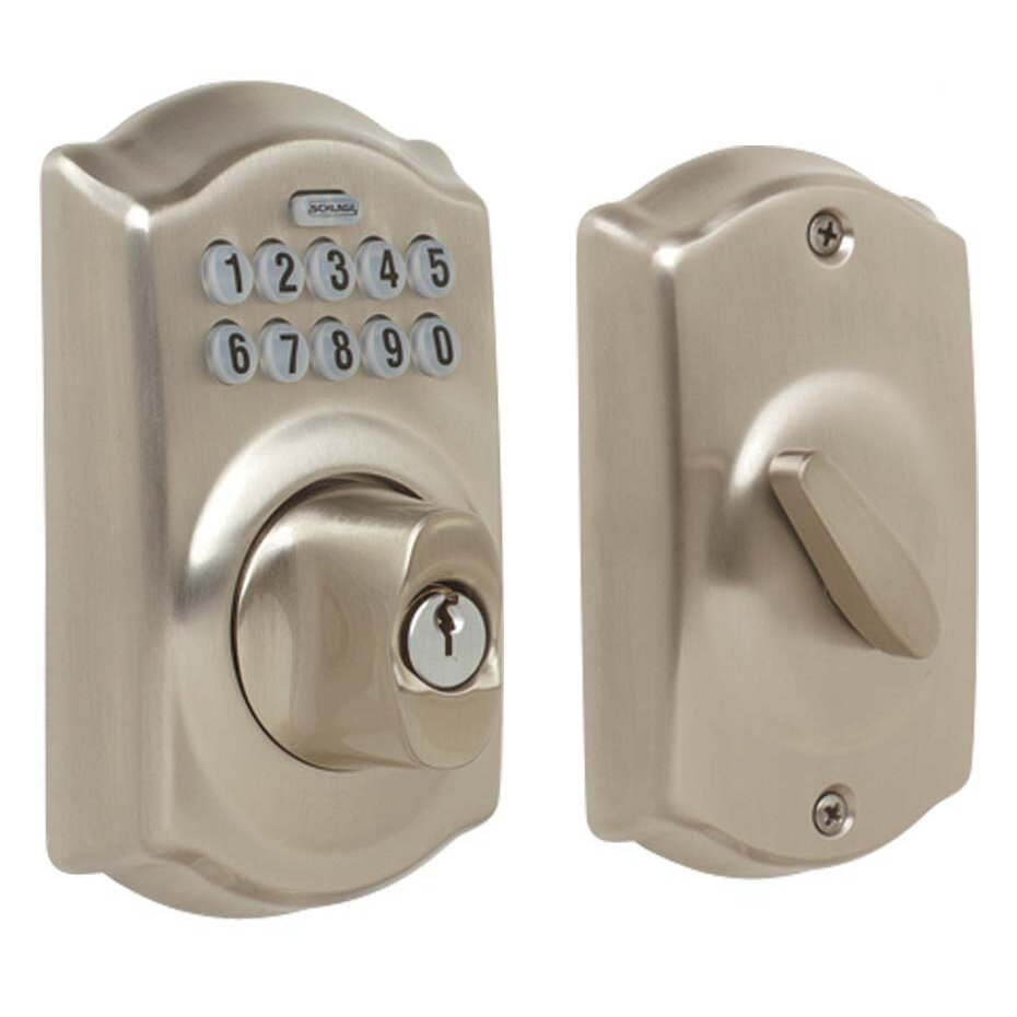 Schlage Camelot Single Cylinder Keyless Electronic