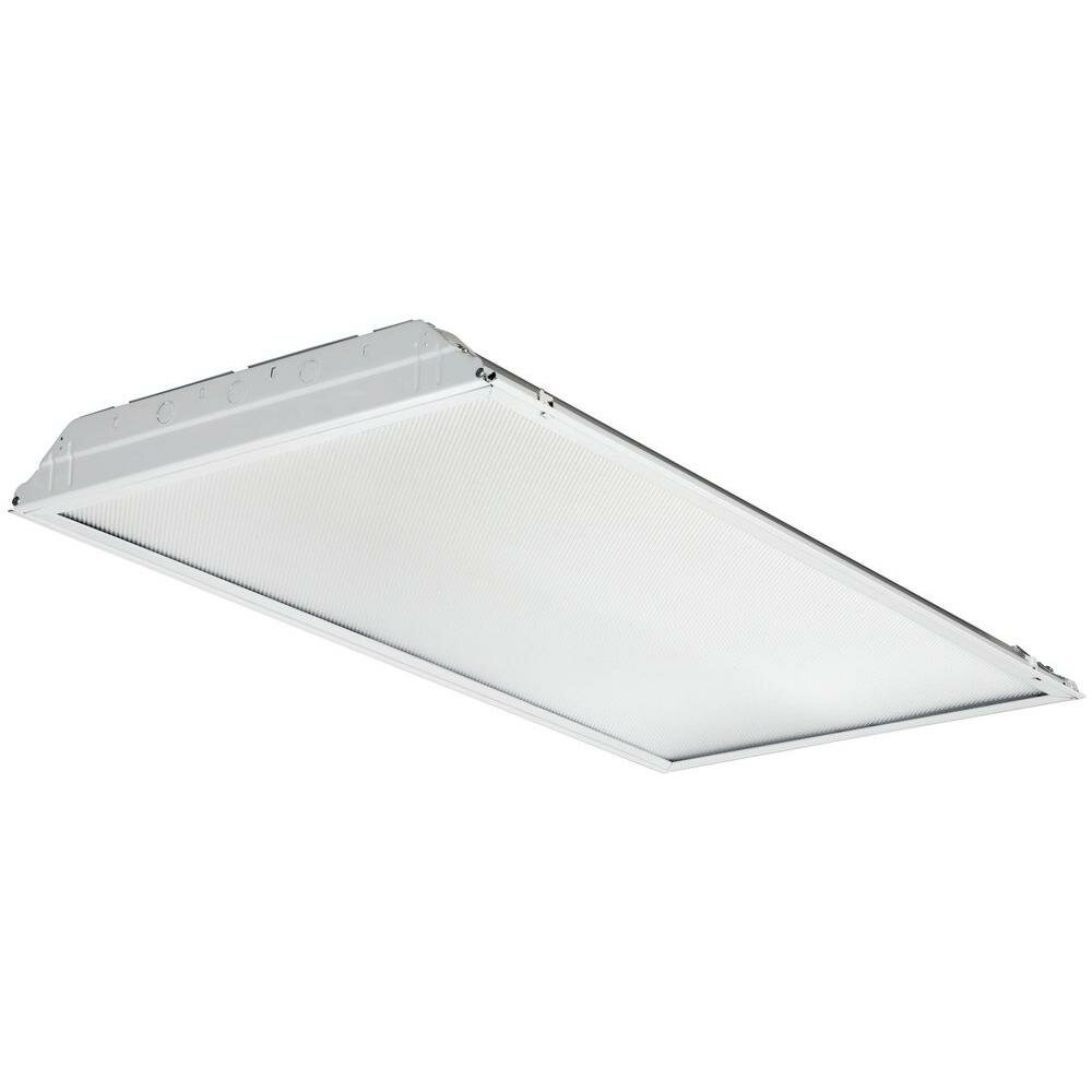 Lithonia Recessed Lighting Spacing: Lithonia Lighting Lensed Troffer Recessed Housing