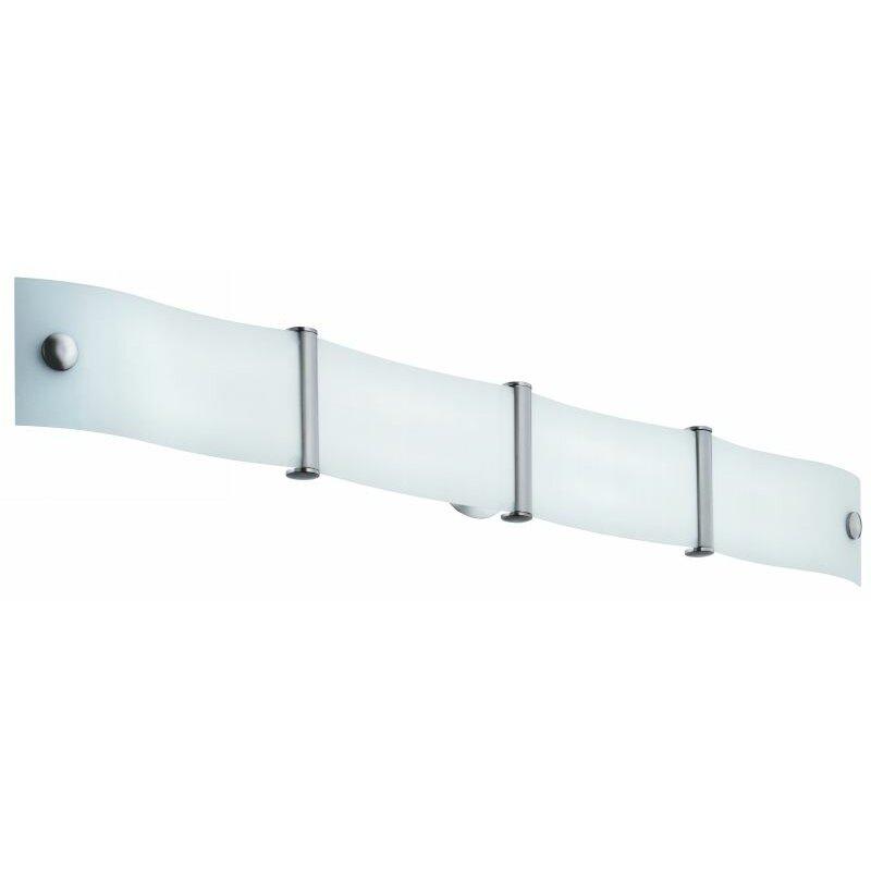 Lithonia lighting wing 2 light bath bar reviews wayfair for Bath bar light fixture