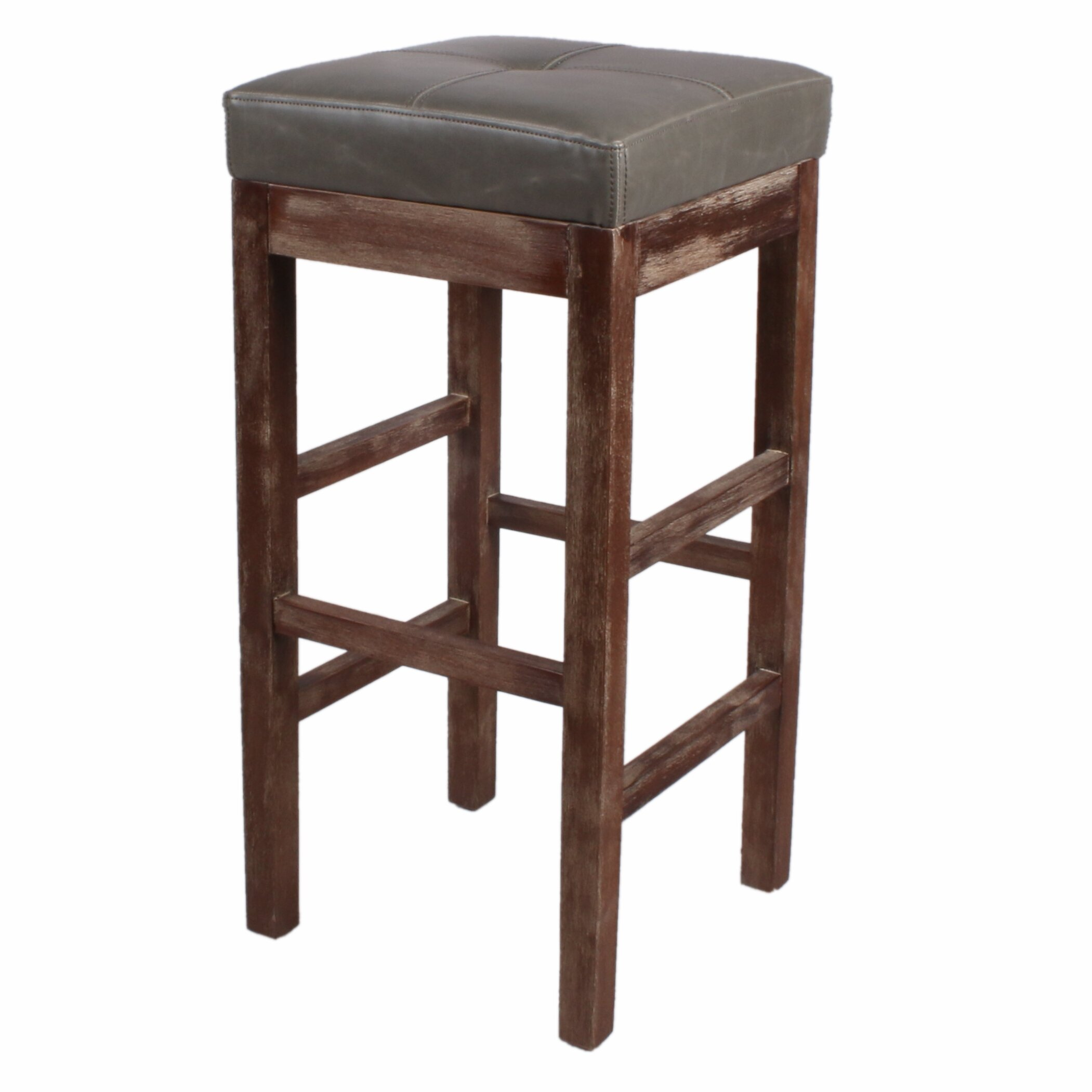 New Pacific Direct Valencia 31quot Bar Stool amp Reviews Wayfair : Valencia Bonded Leather Backless Bar Stool Mystique Gray Legs 108631B MG from www.wayfair.com size 2101 x 2101 jpeg 179kB