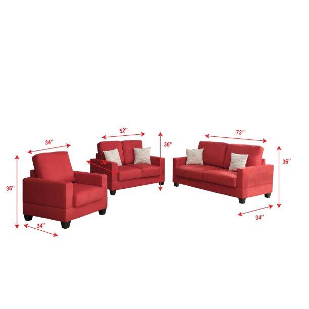 Poundex bobkona madison 3 piece sofa and loveseat with for Bobkona 3 piece sectional sofa set