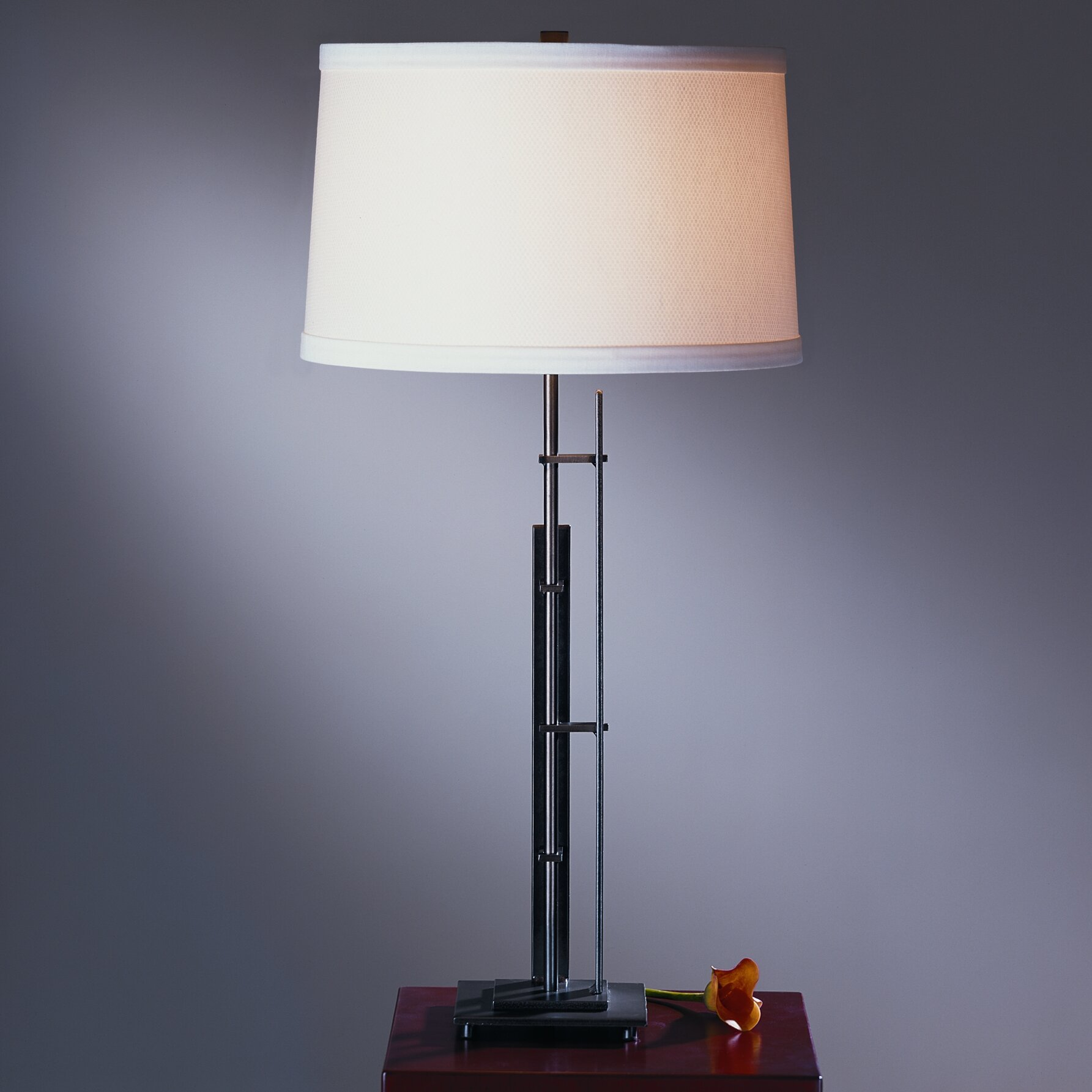 hubbardton forge metra 17 6 table lamp reviews wayfair. Black Bedroom Furniture Sets. Home Design Ideas