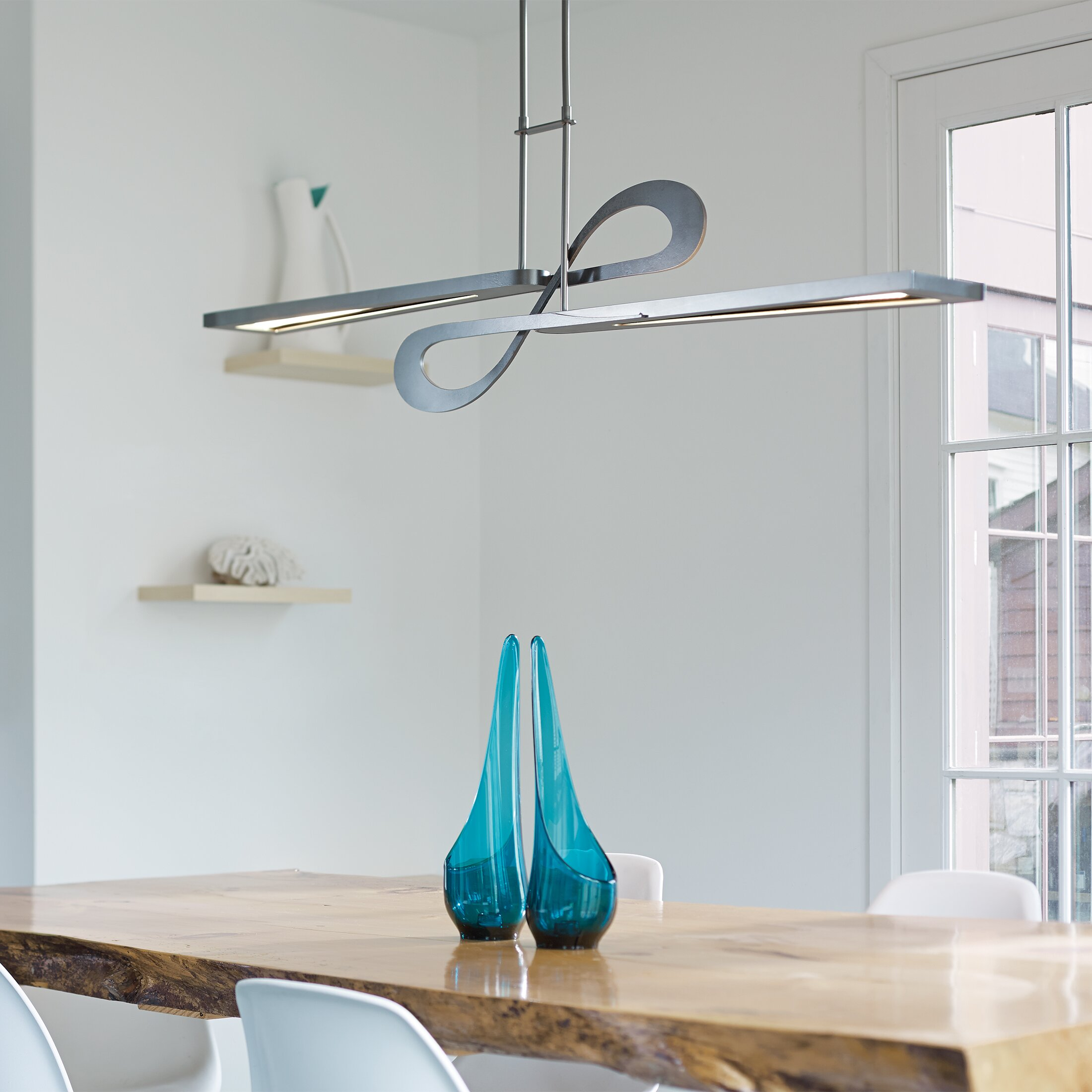 Hubbardton Forge Switchback LED Kitchen Island Pendant
