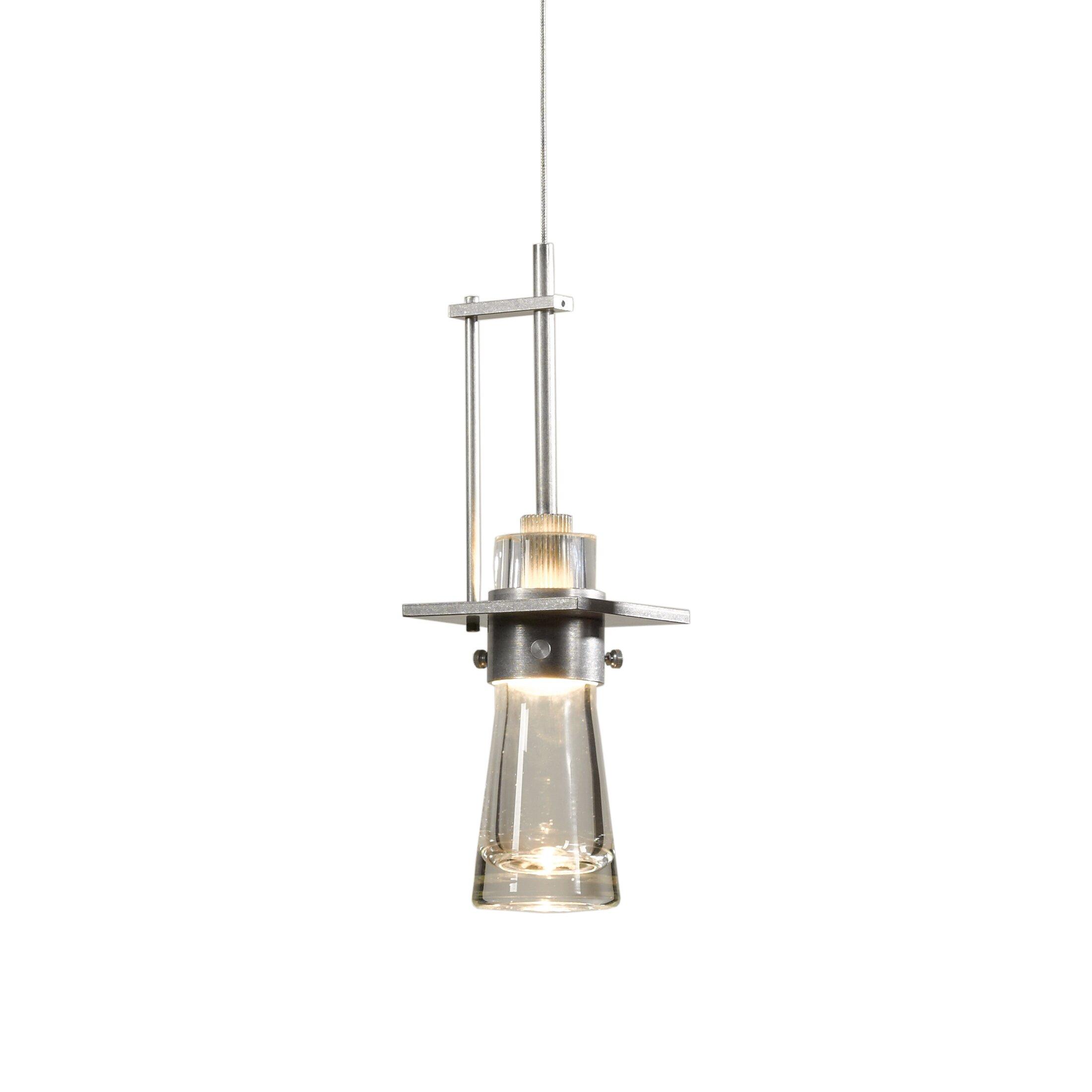 Hubbardton forge erlenmeyer 1 light pendant reviews wayfair for Hubbardton forge bathroom lighting
