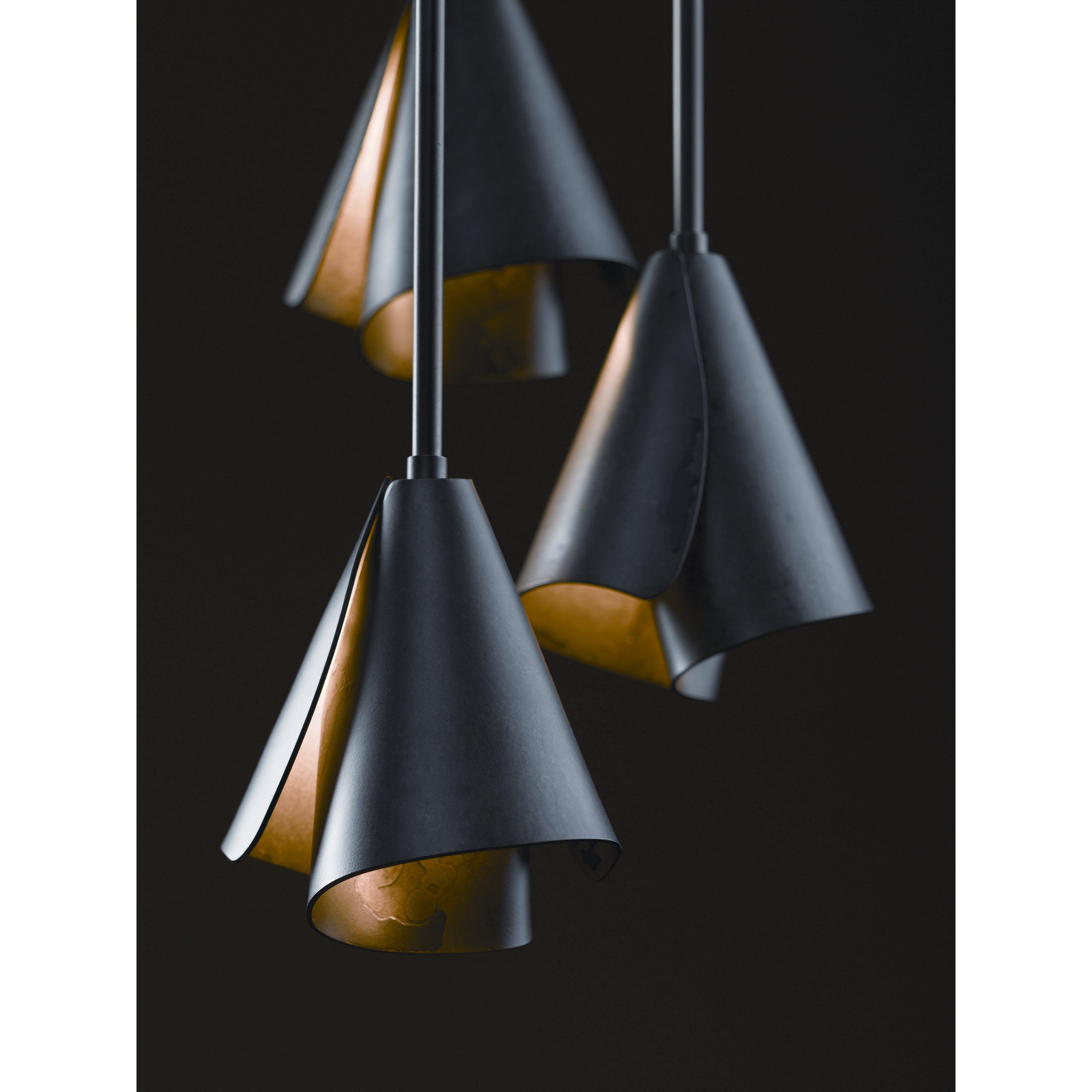 Hubbardton Forge Cairn Pendant: Hubbardton Forge Mobius 1 Light Adjustable Pendant