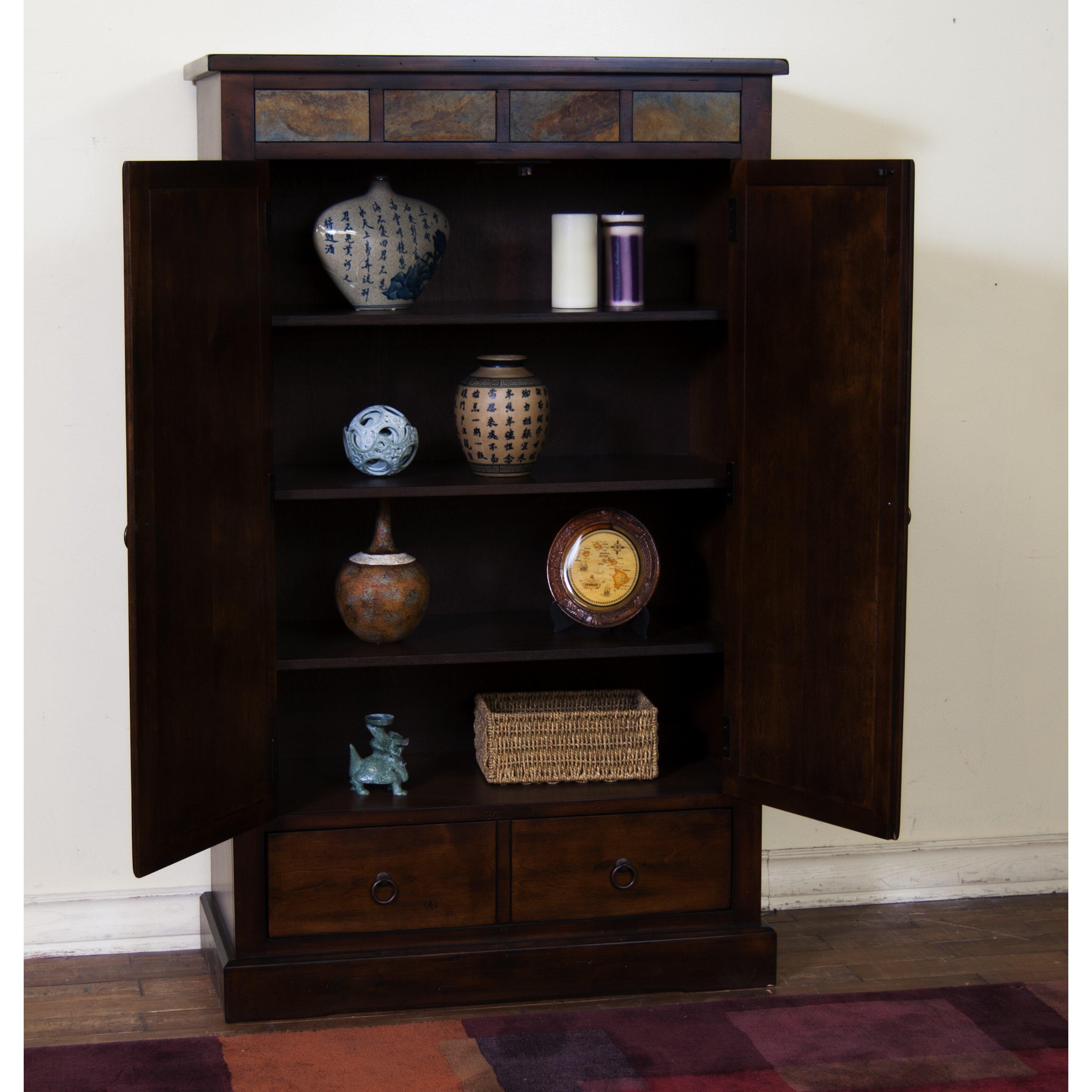 "Sunny Designs Santa Fe 60"" Accent Cabinet & Reviews | Wayfair"