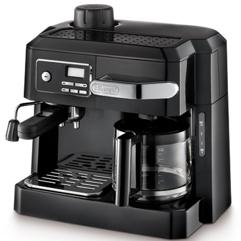 delonghi combination coffee espresso maker reviews wayfair. Black Bedroom Furniture Sets. Home Design Ideas